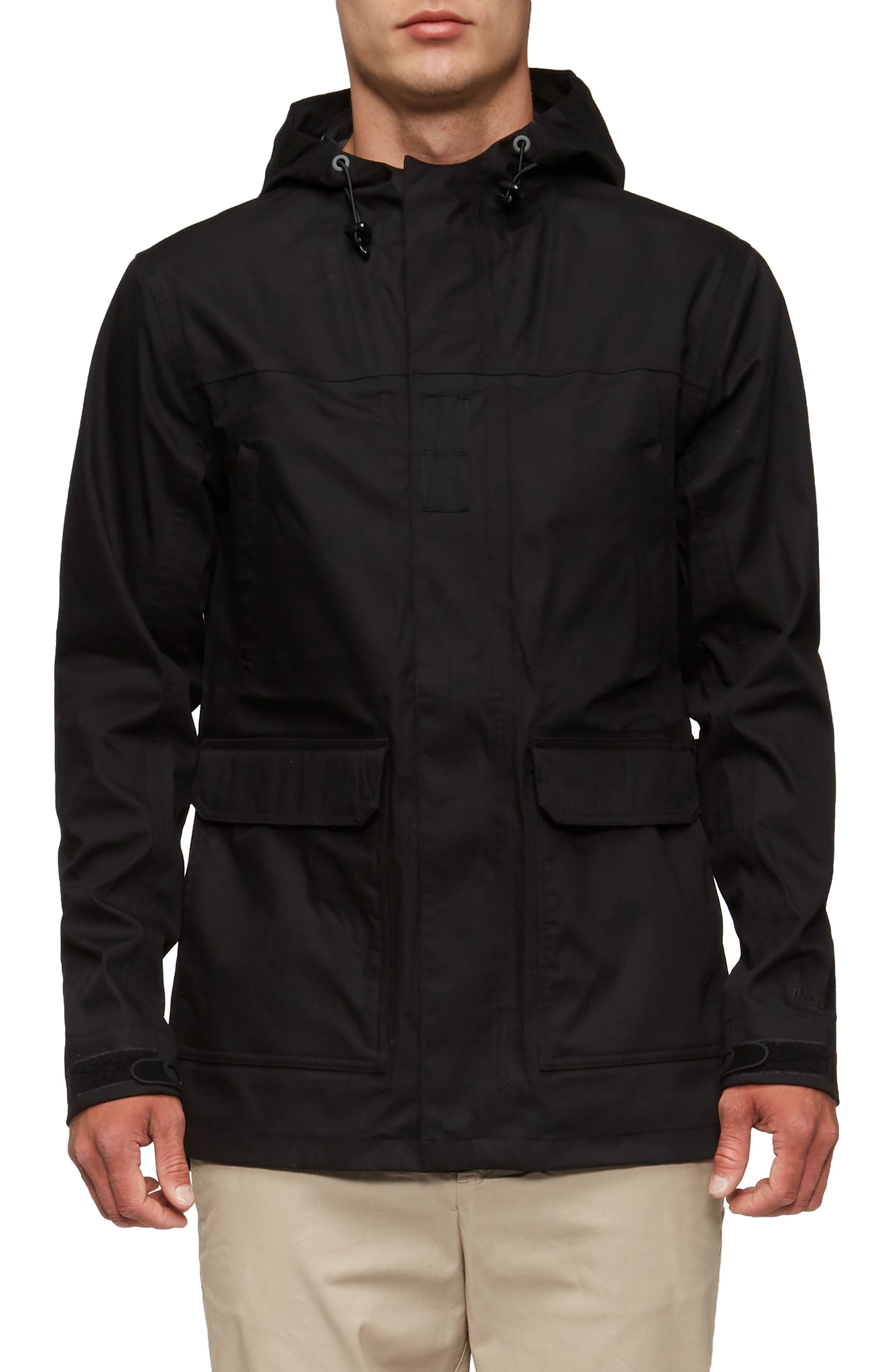 Ridley Parka,                             Alternate thumbnail 4, color,                             Black