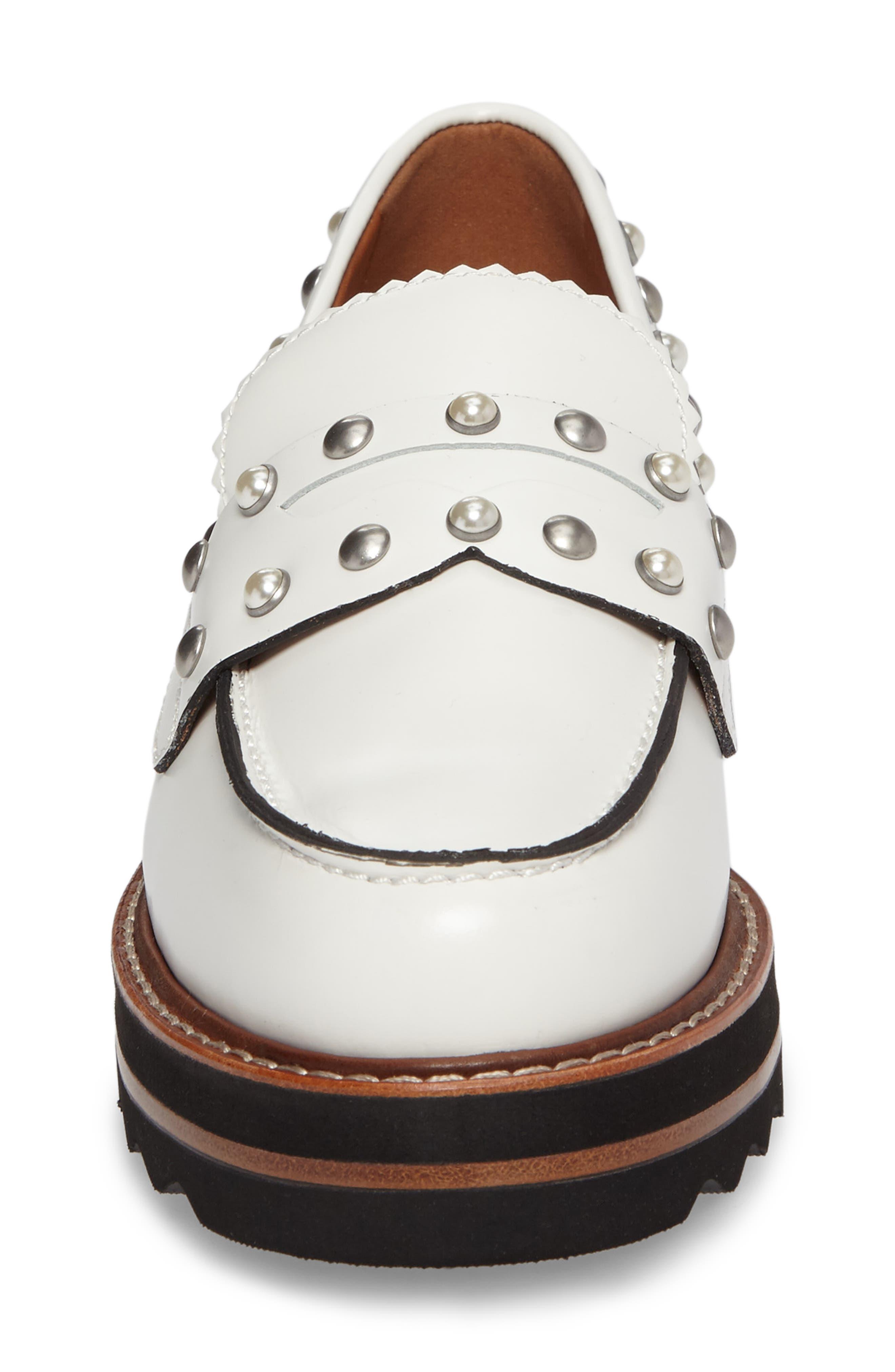 Alternate Image 4  - COACH Lenox Loafer (Women)