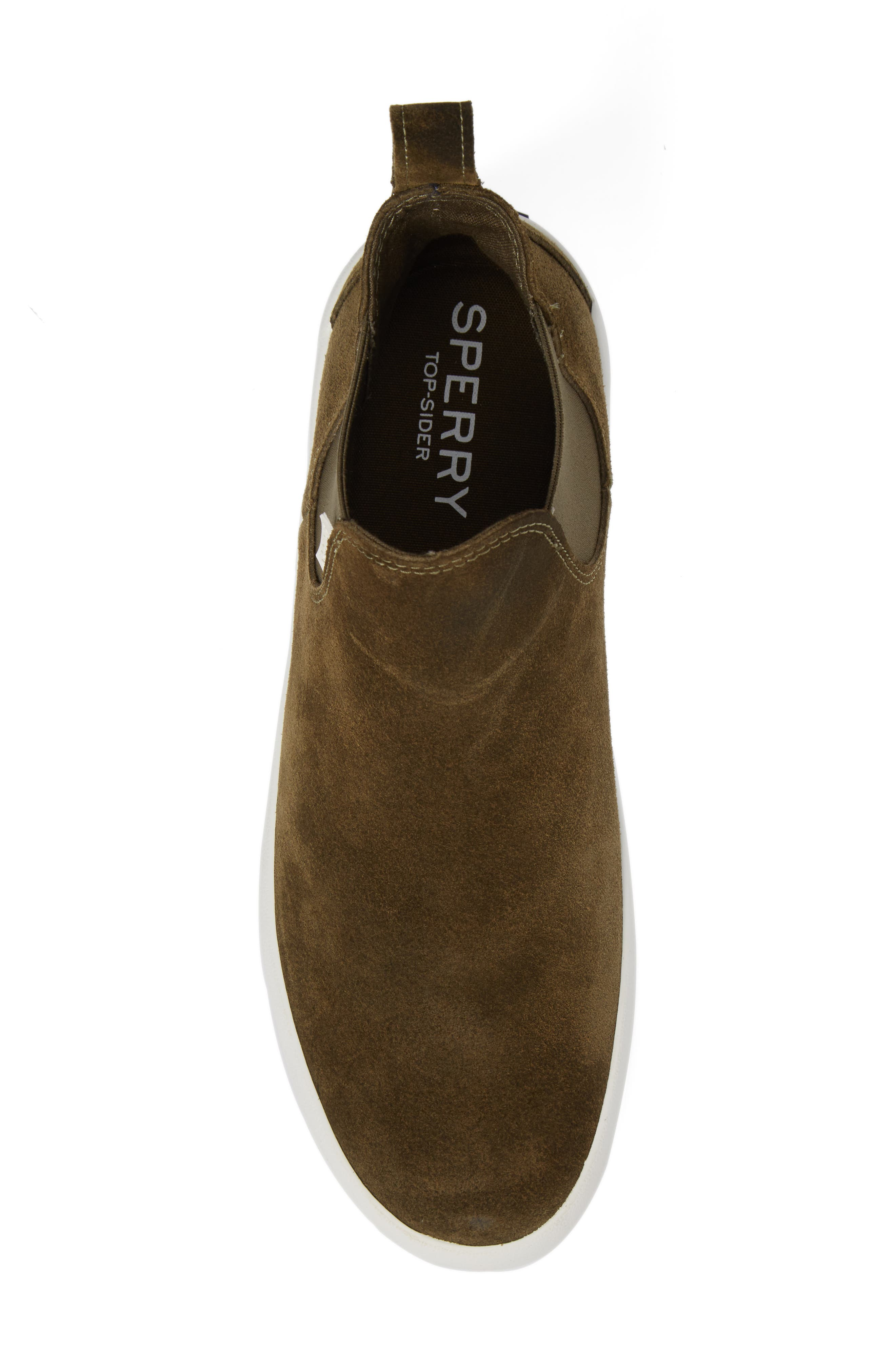 Wahoo Chelsea Sneaker Boot,                             Alternate thumbnail 5, color,                             Olive Leather