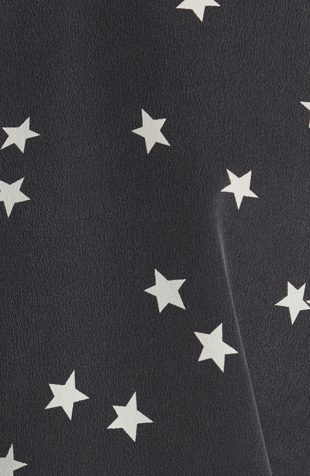 Alternate Image 5  - Equipment 'Starry Night' Silk Shirt