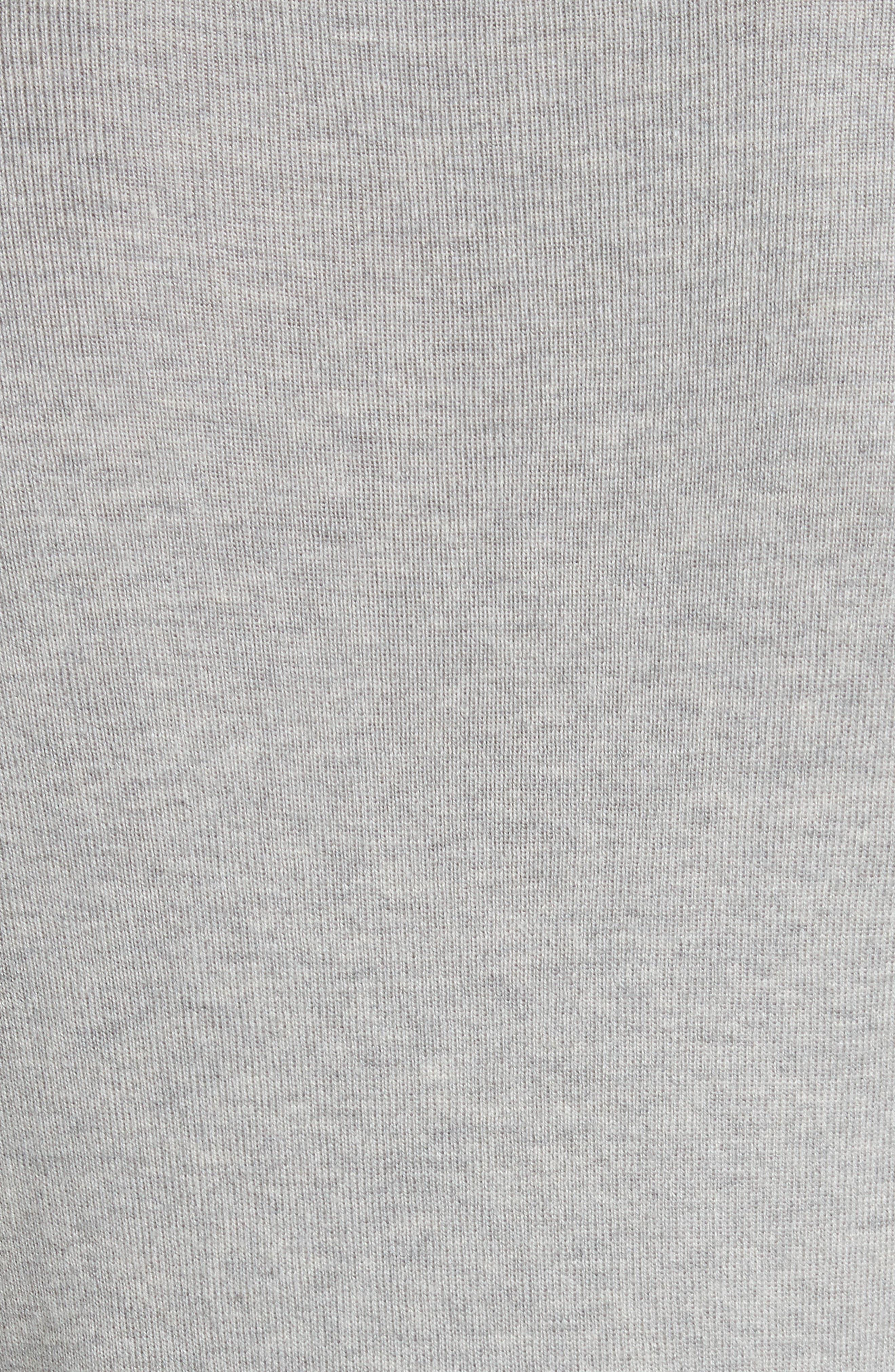 Karley Minerals Mockable Sweater,                             Alternate thumbnail 5, color,                             Light Grey