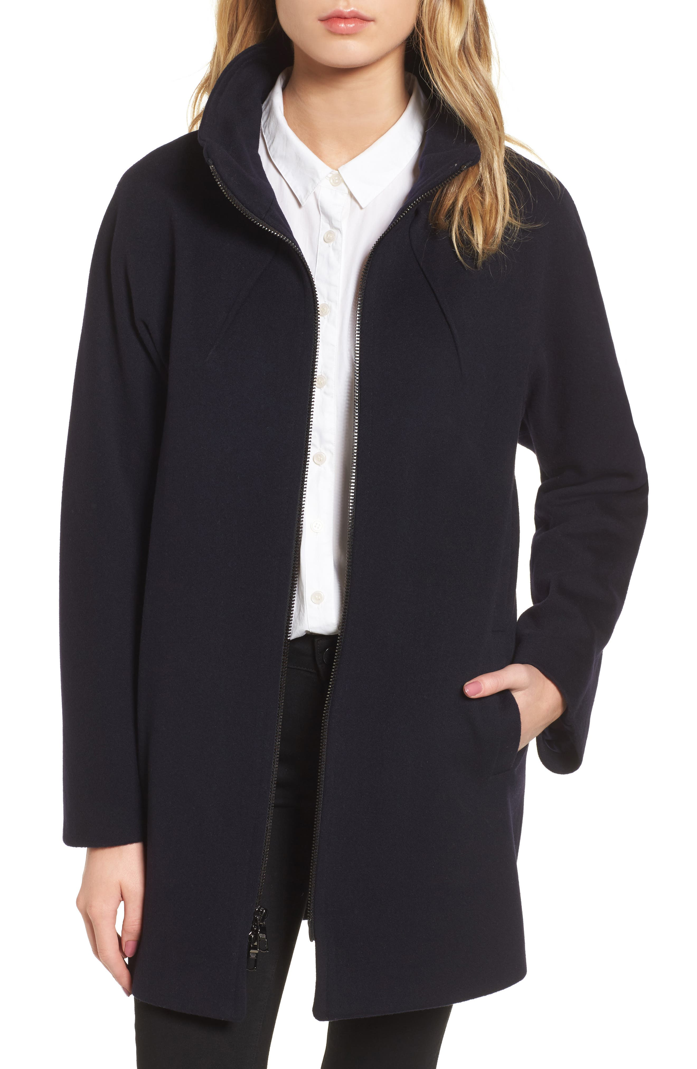 Sofia Cashmere Dolman Sleeve Coat