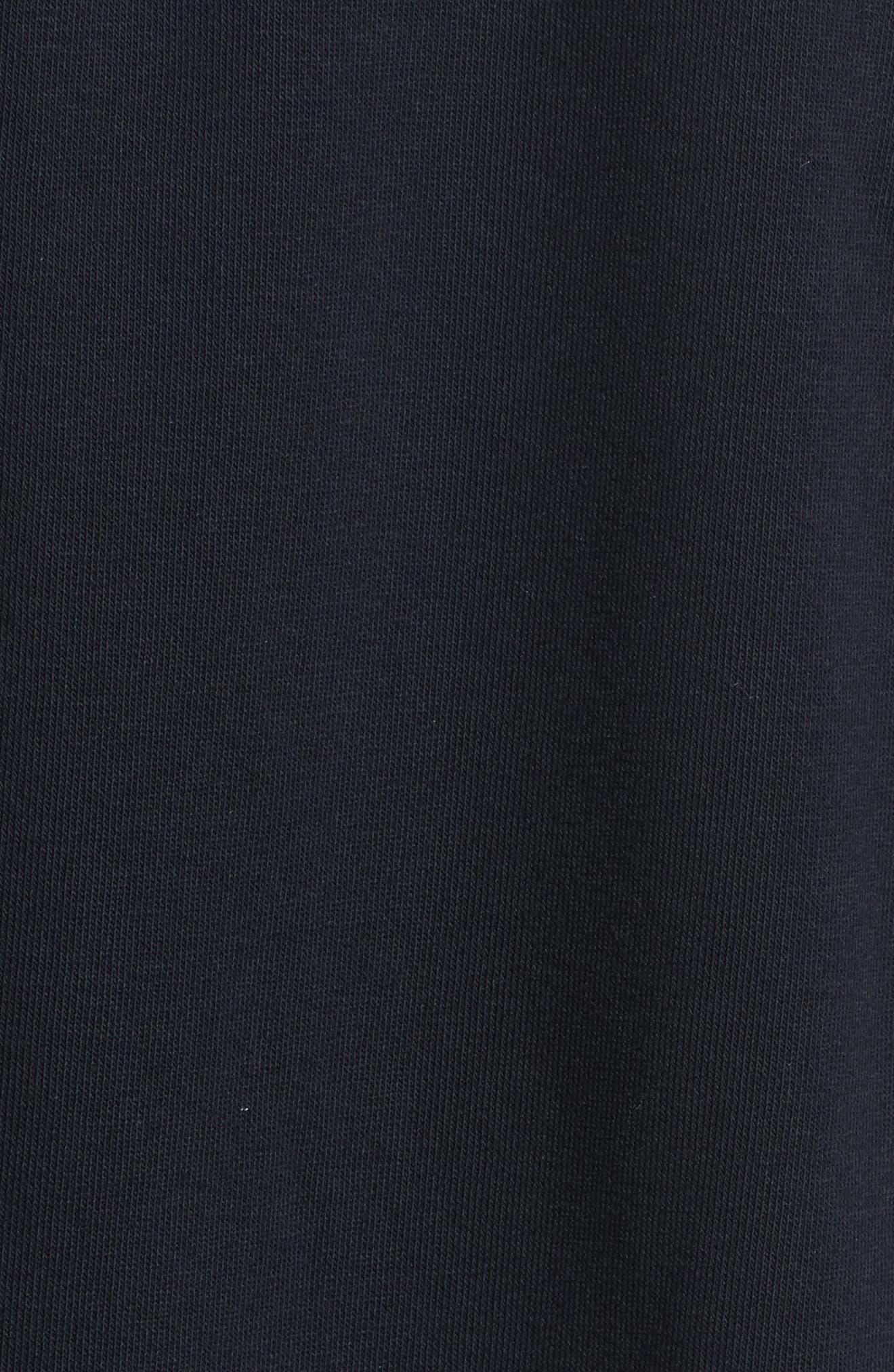 Logo Back Jogger Pants,                             Alternate thumbnail 6, color,                             Black