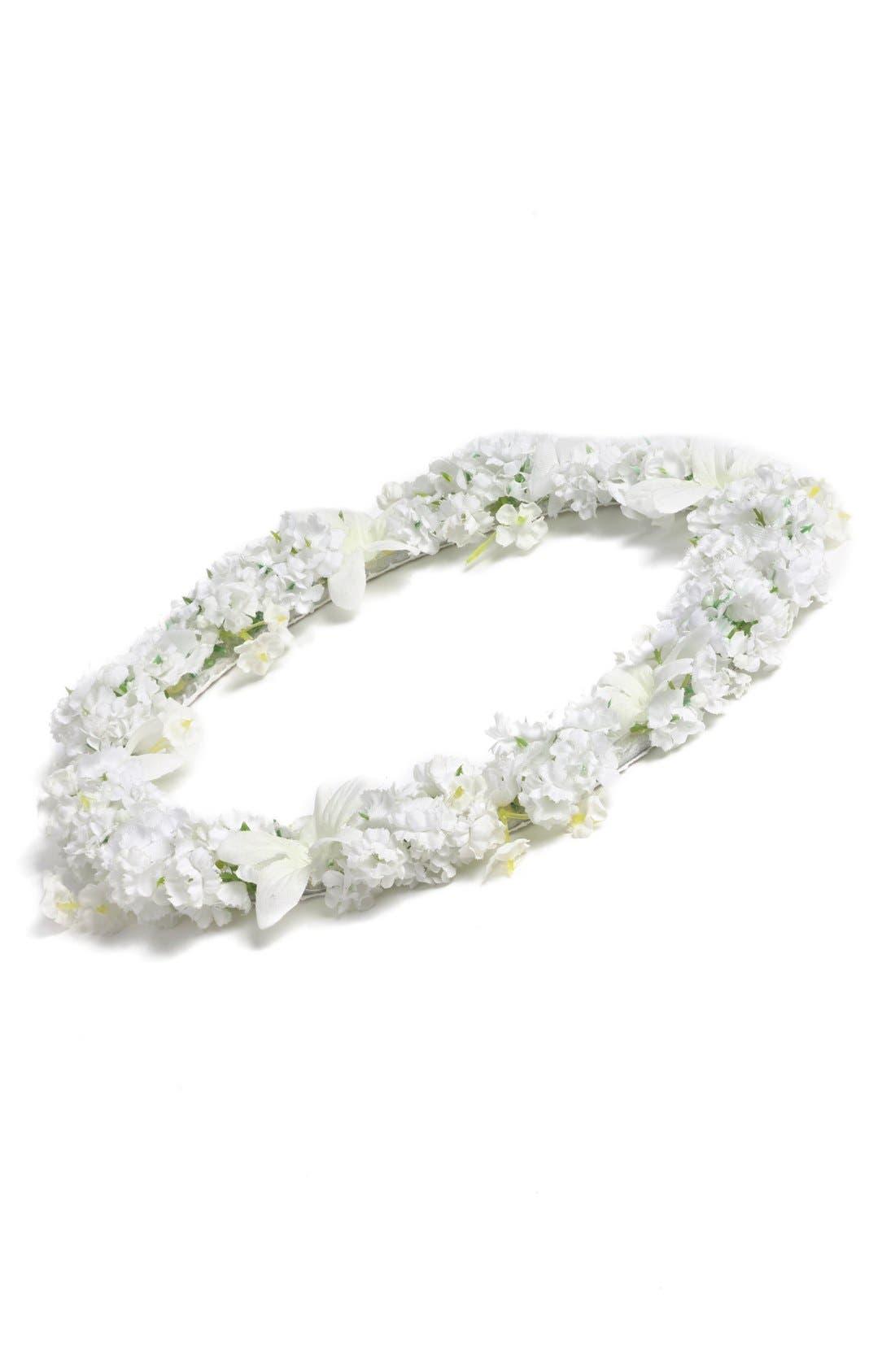 Isabel Garreton Floral Crown (Girls)