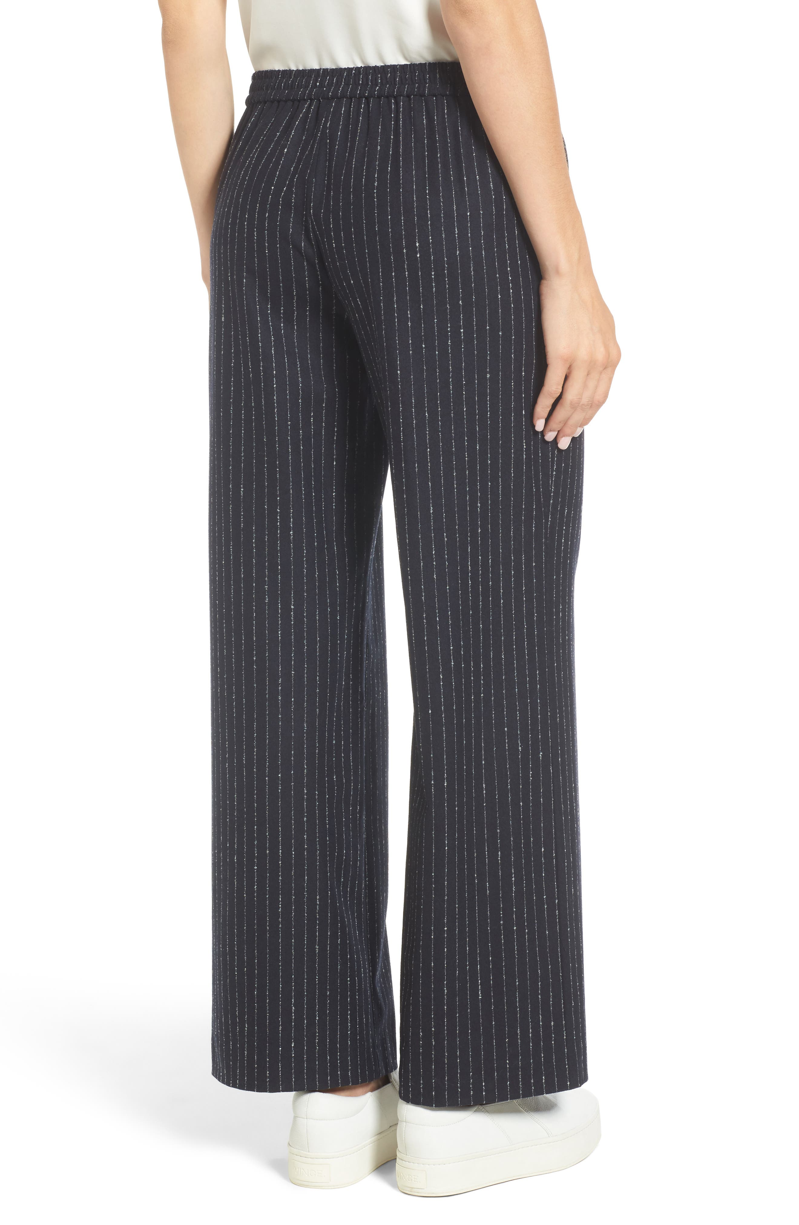 Alternate Image 2  - Nordstrom Signature Wide-Leg Crop Pants