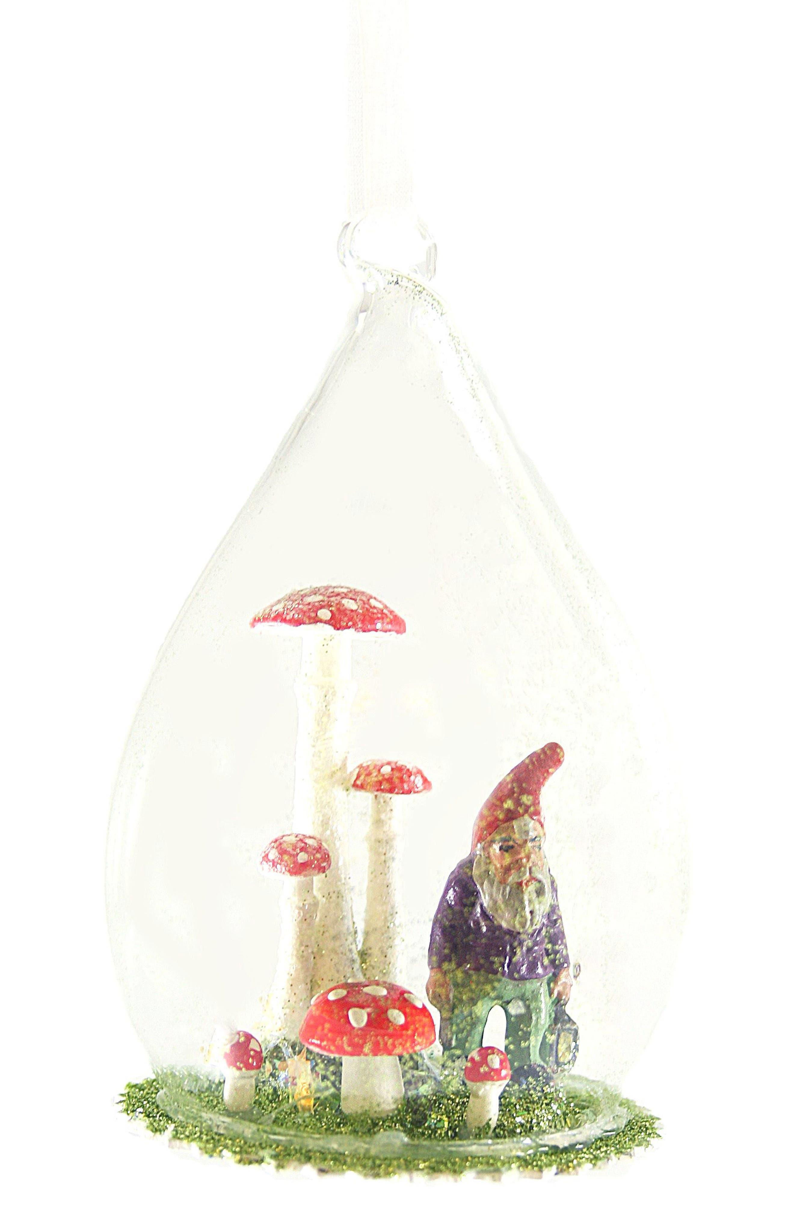 Cody Foster Forest Gnome Globe Ornament