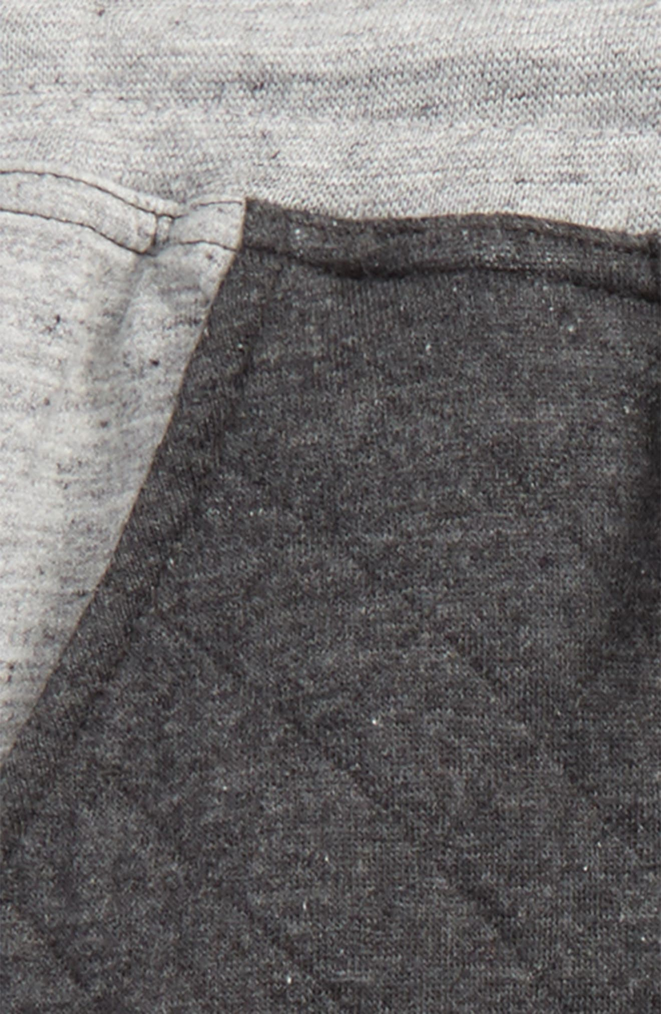 Quilted Athletic Jogger Pants,                             Alternate thumbnail 2, color,                             Gray