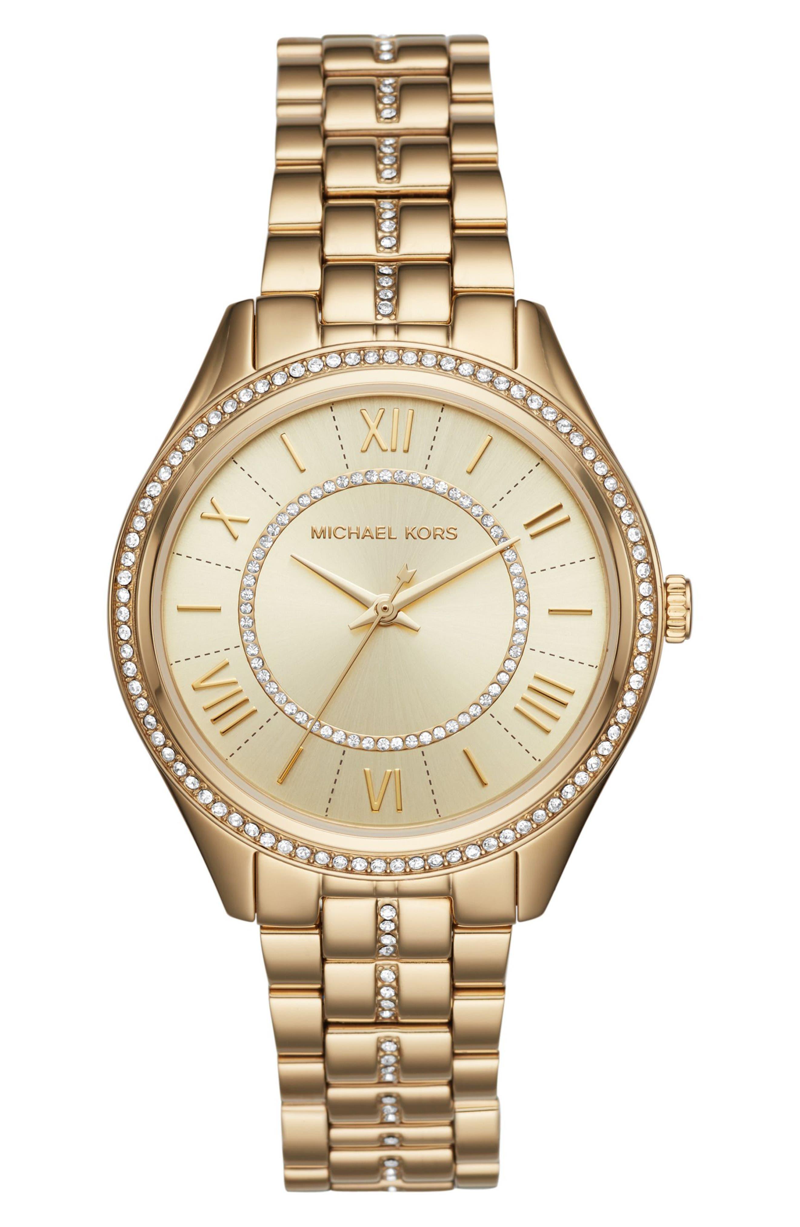 Lauryn Bracelet Watch, 38mm,                         Main,                         color, Gold