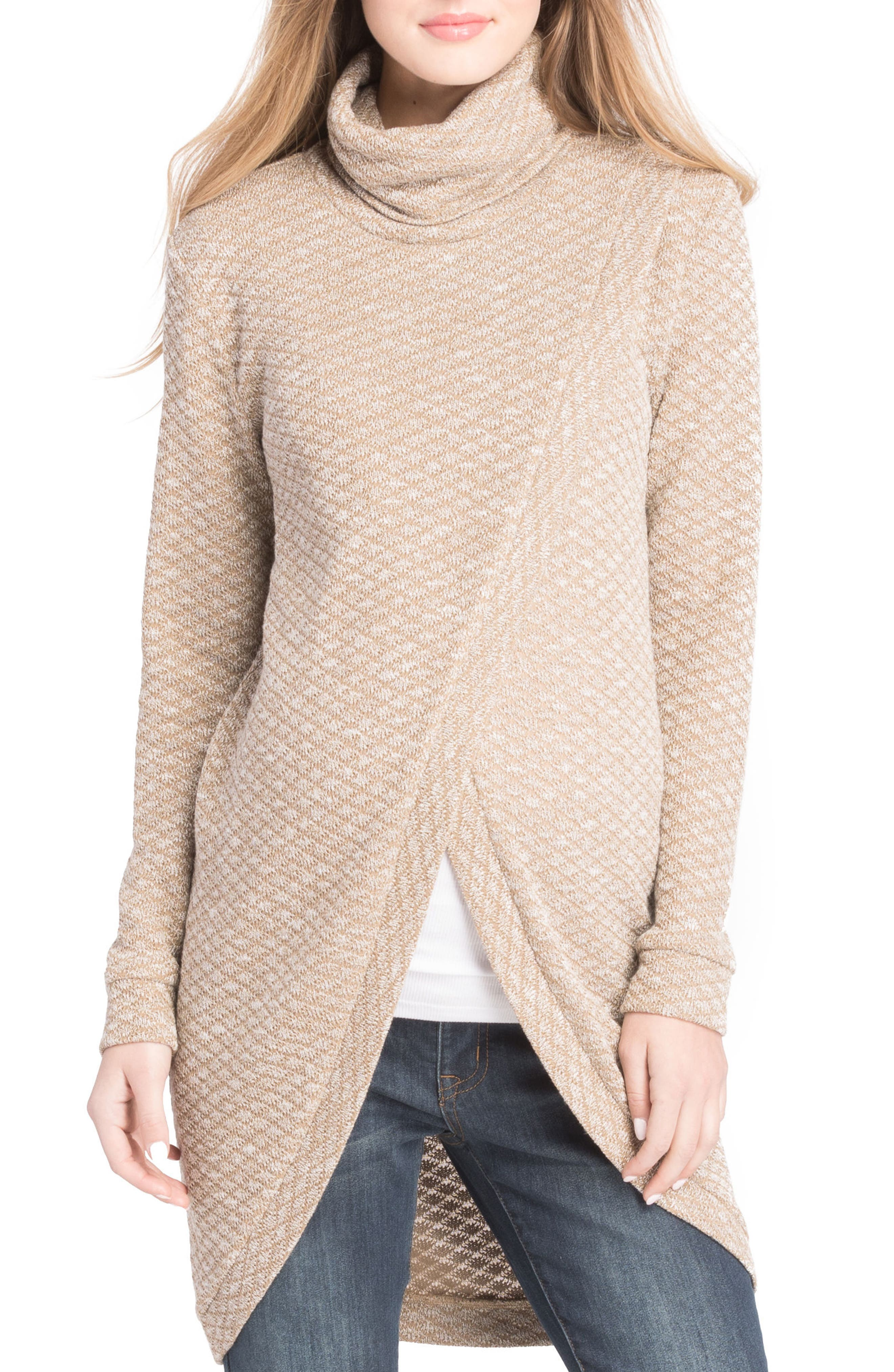 Main Image - Lilac Clothing Nursing Tunic Sweater