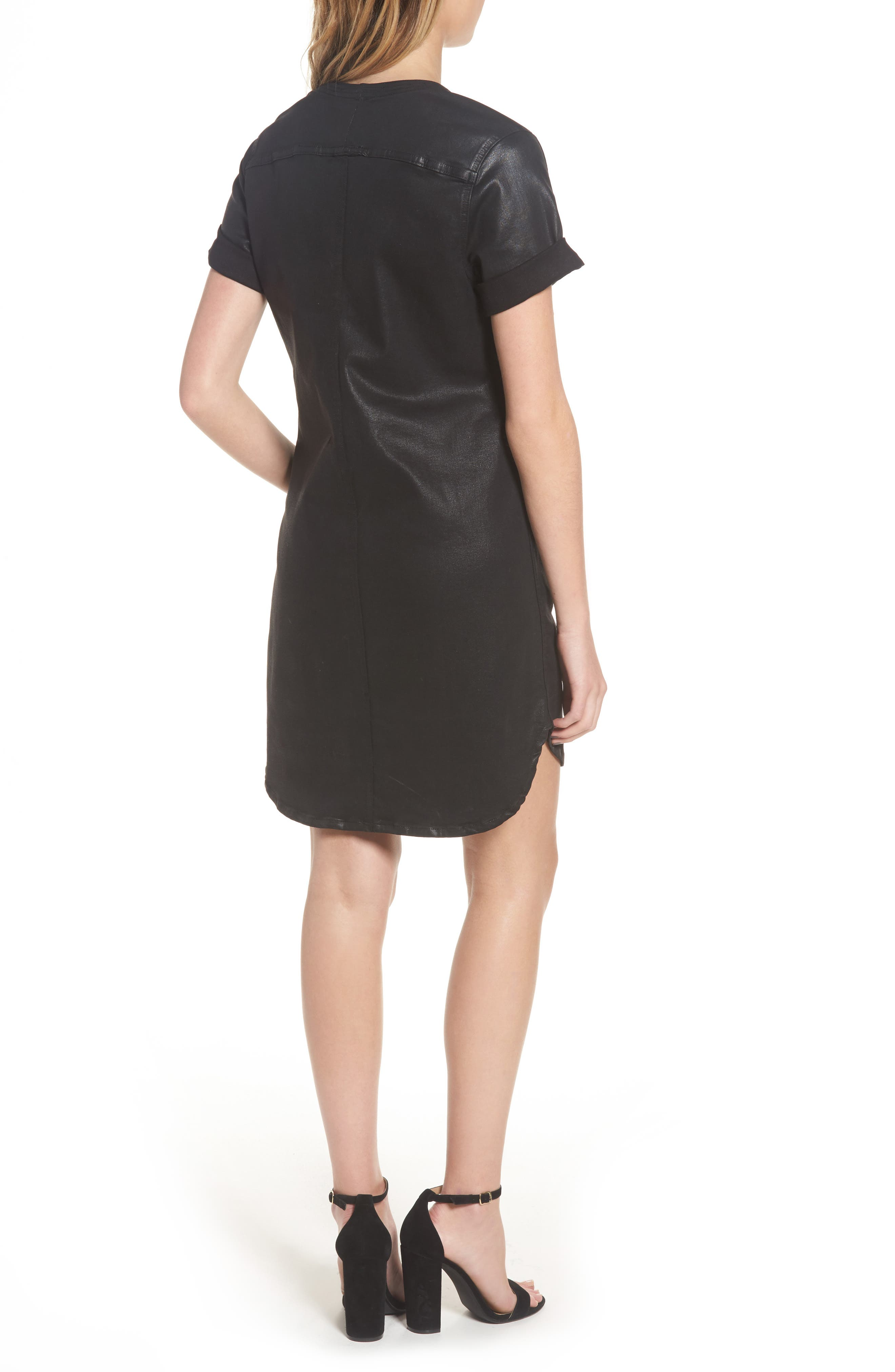 Alternate Image 2  - 7 For All Mankind® Coated Shift Dress