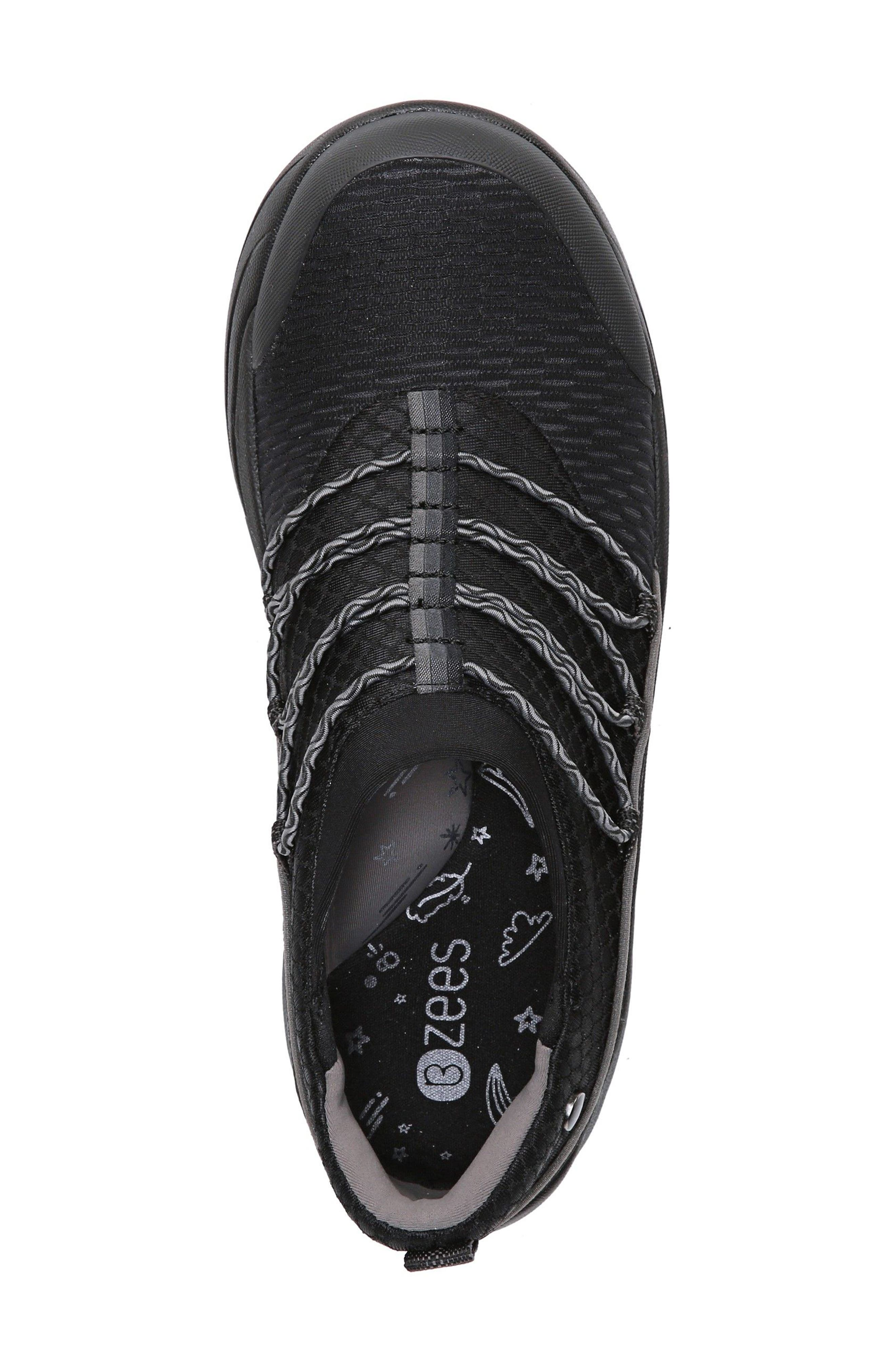 Pisces Slip-On Sneaker,                             Alternate thumbnail 5, color,                             Black