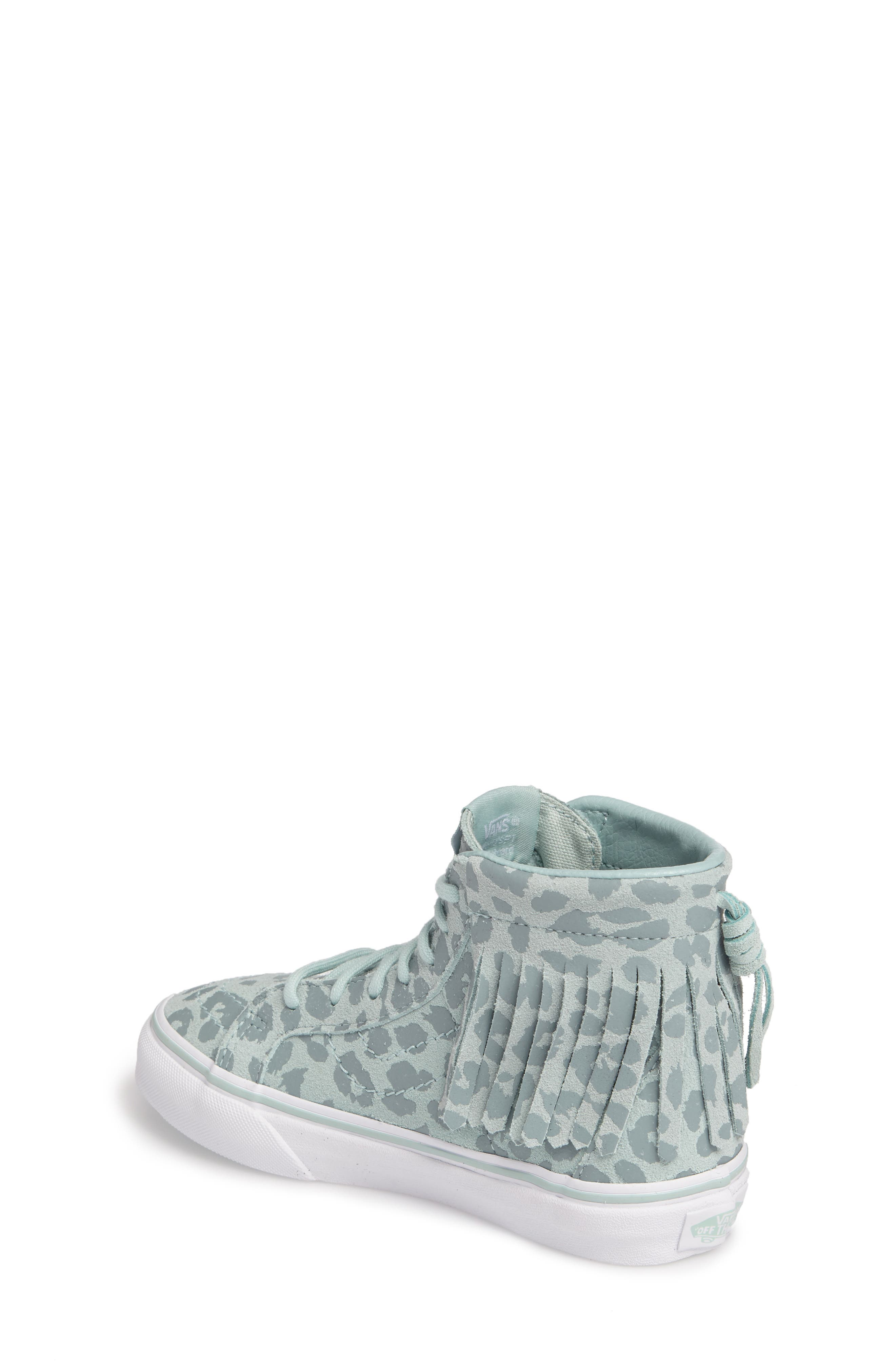 Chukka V Moc Sneaker,                             Alternate thumbnail 2, color,                             Harbor Gray Leopard Suede