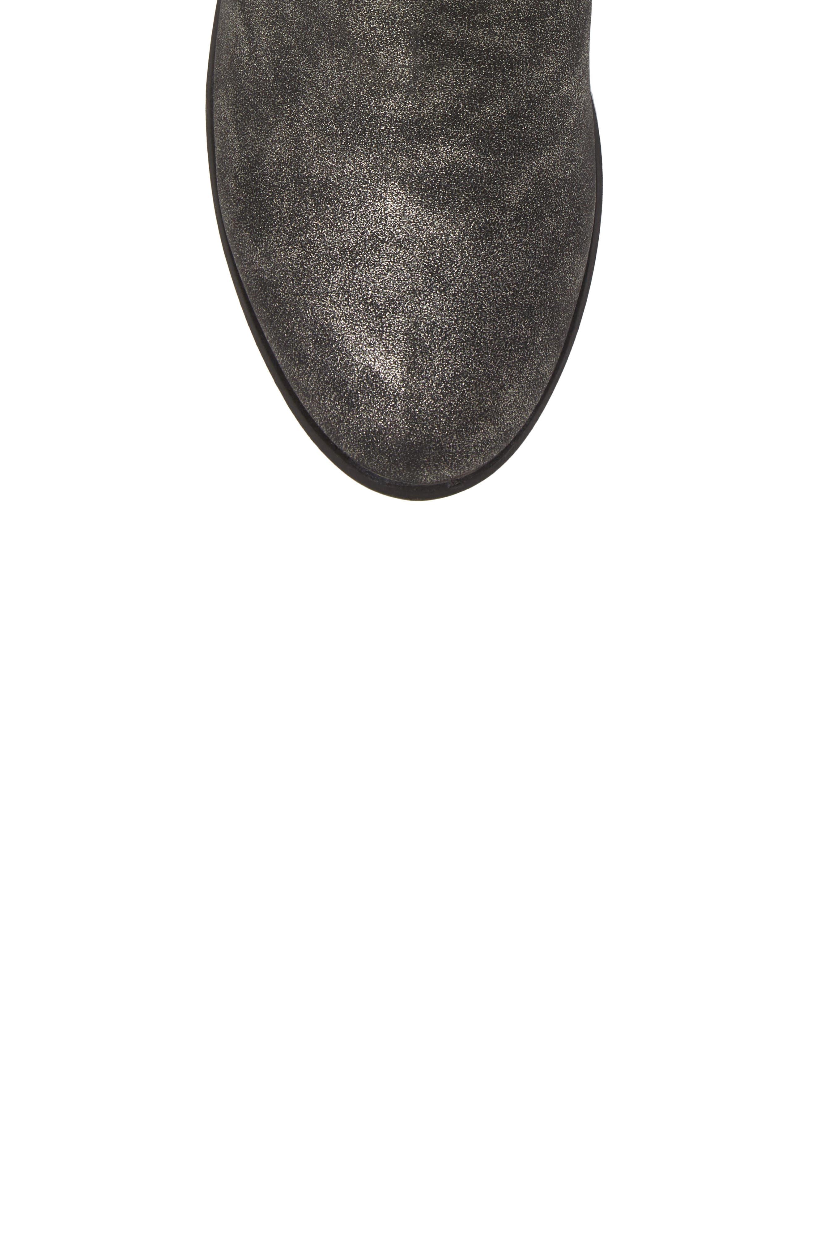 Roper Stitch Boot,                             Alternate thumbnail 5, color,                             Pewter Metallic