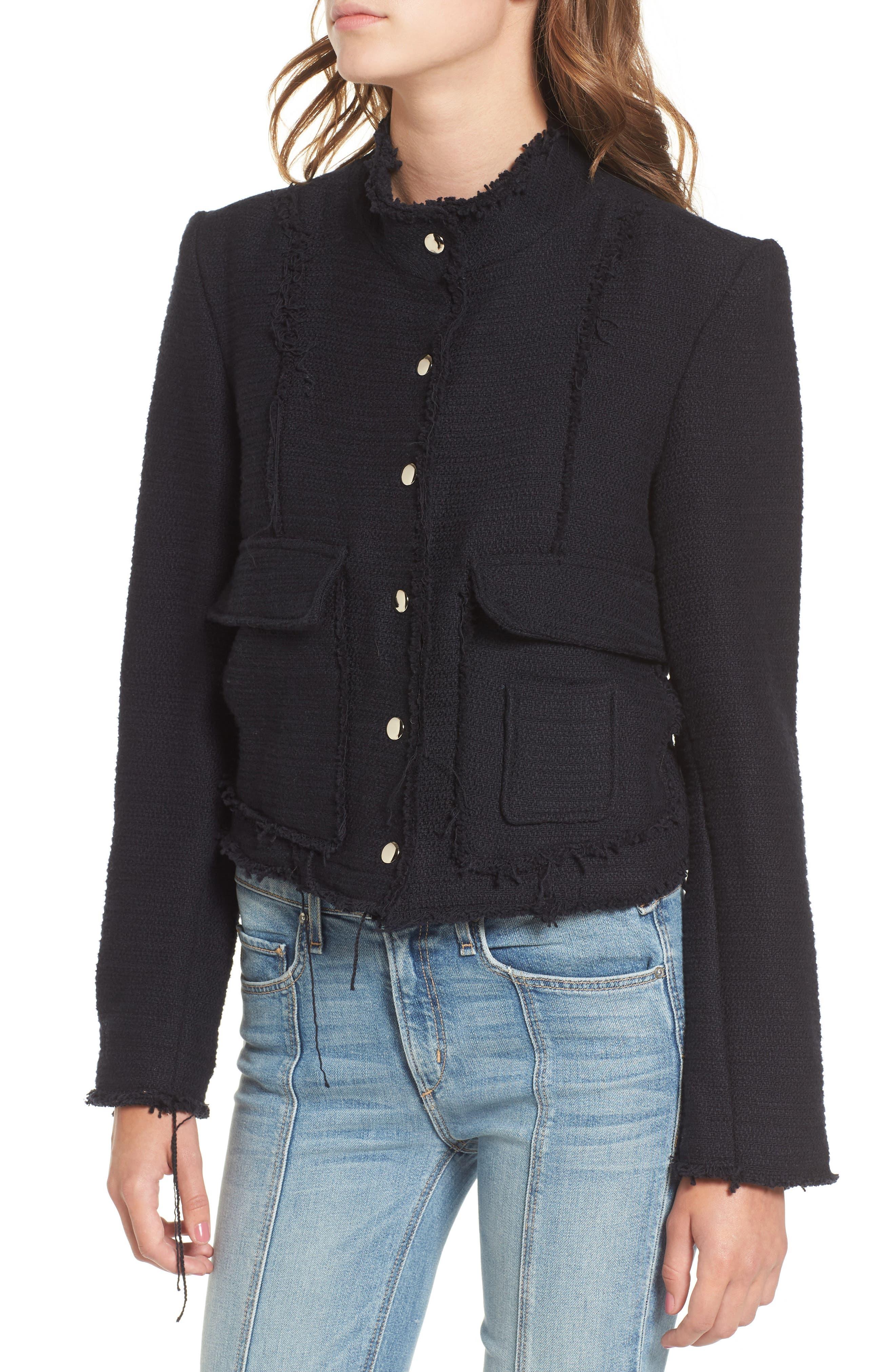 Alternate Image 4  - McGuire Bloombury Crop Cotton Jacket