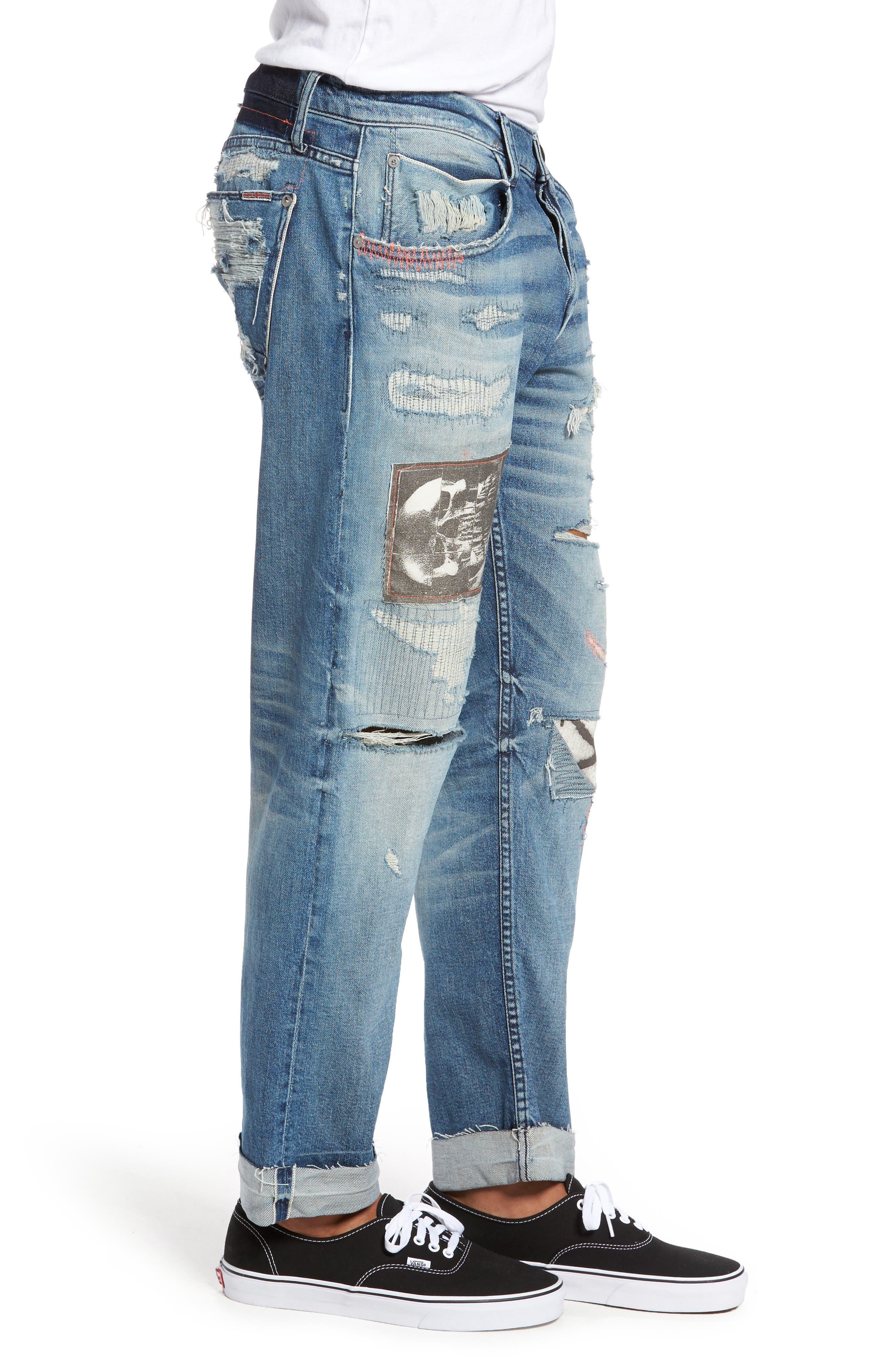 Blake Slim Fit Jeans,                             Alternate thumbnail 3, color,                             Public Enemy