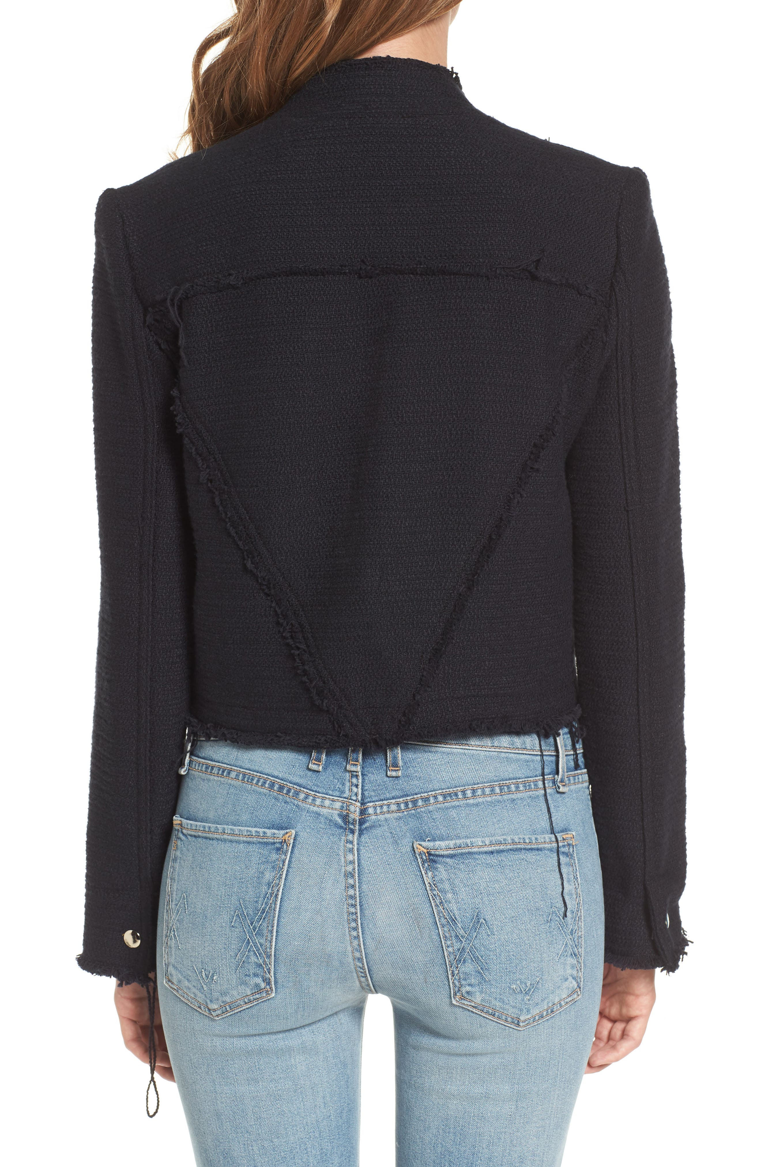 Alternate Image 2  - McGuire Bloombury Crop Cotton Jacket