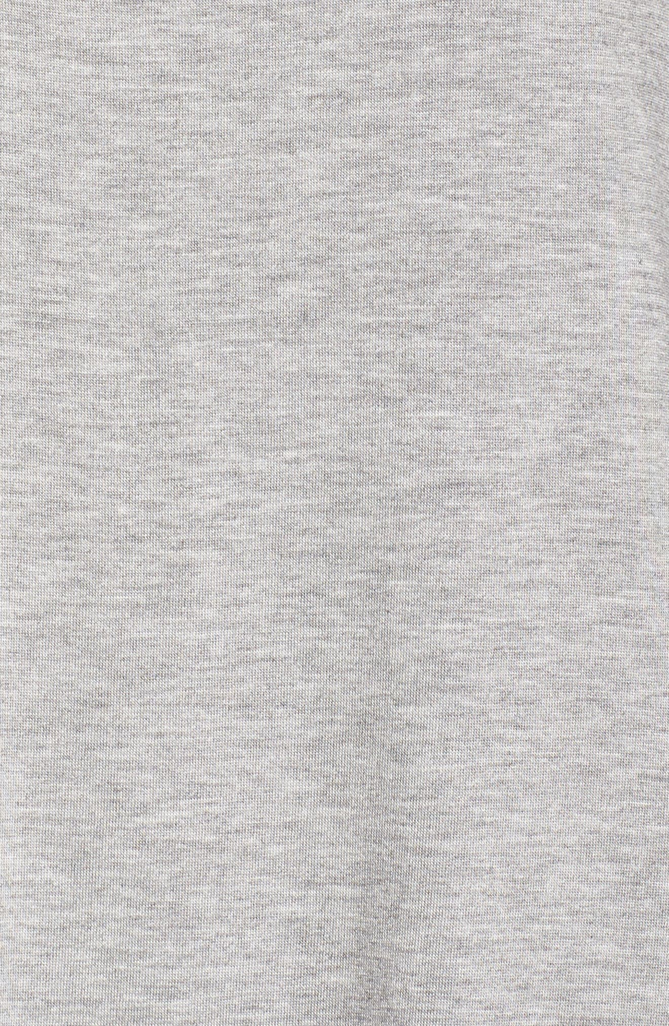 Back Out Cross Back Tee,                             Alternate thumbnail 6, color,                             Light Heather Gray