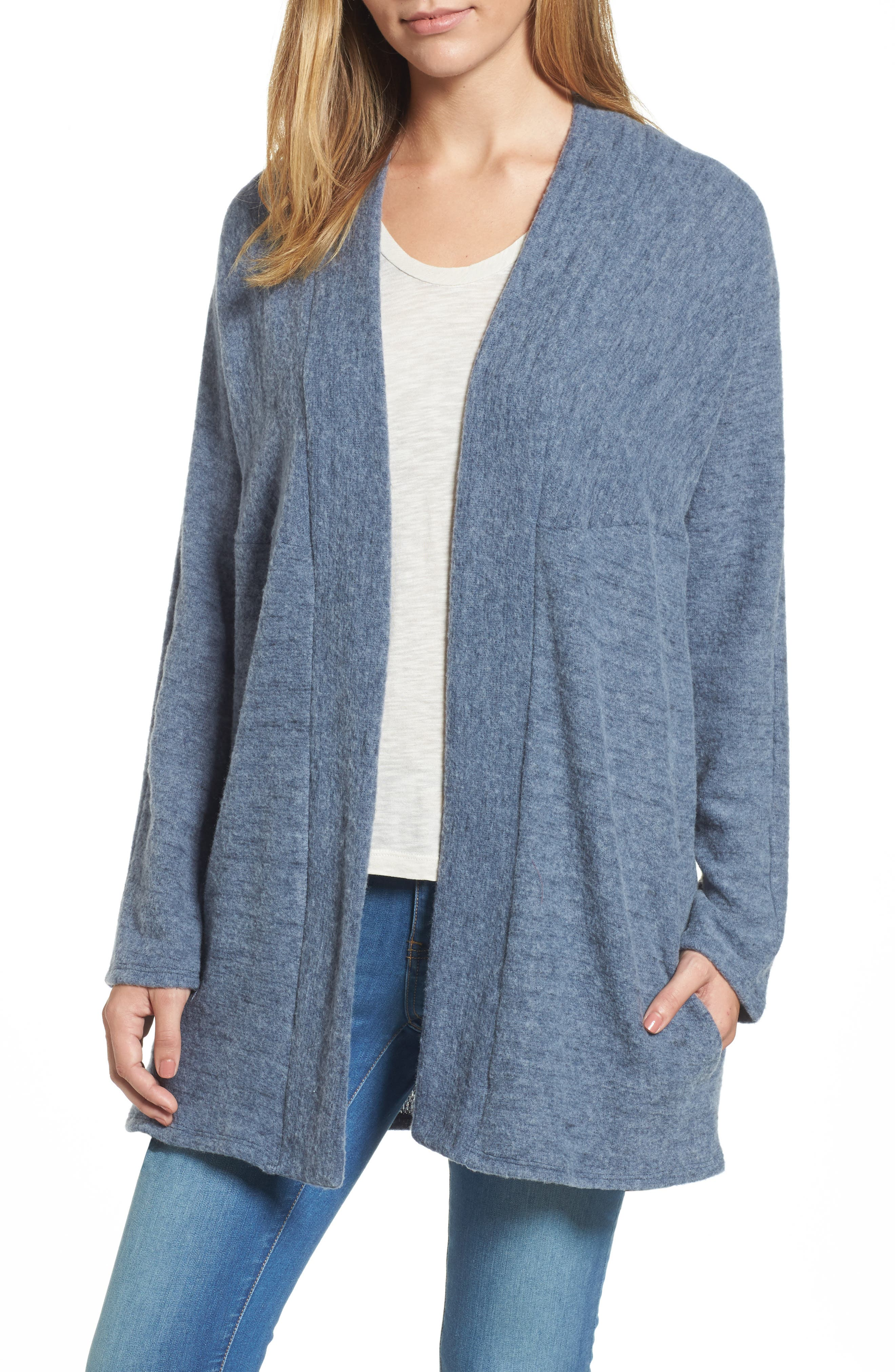 Main Image - Caslon Open Knit Cardigan
