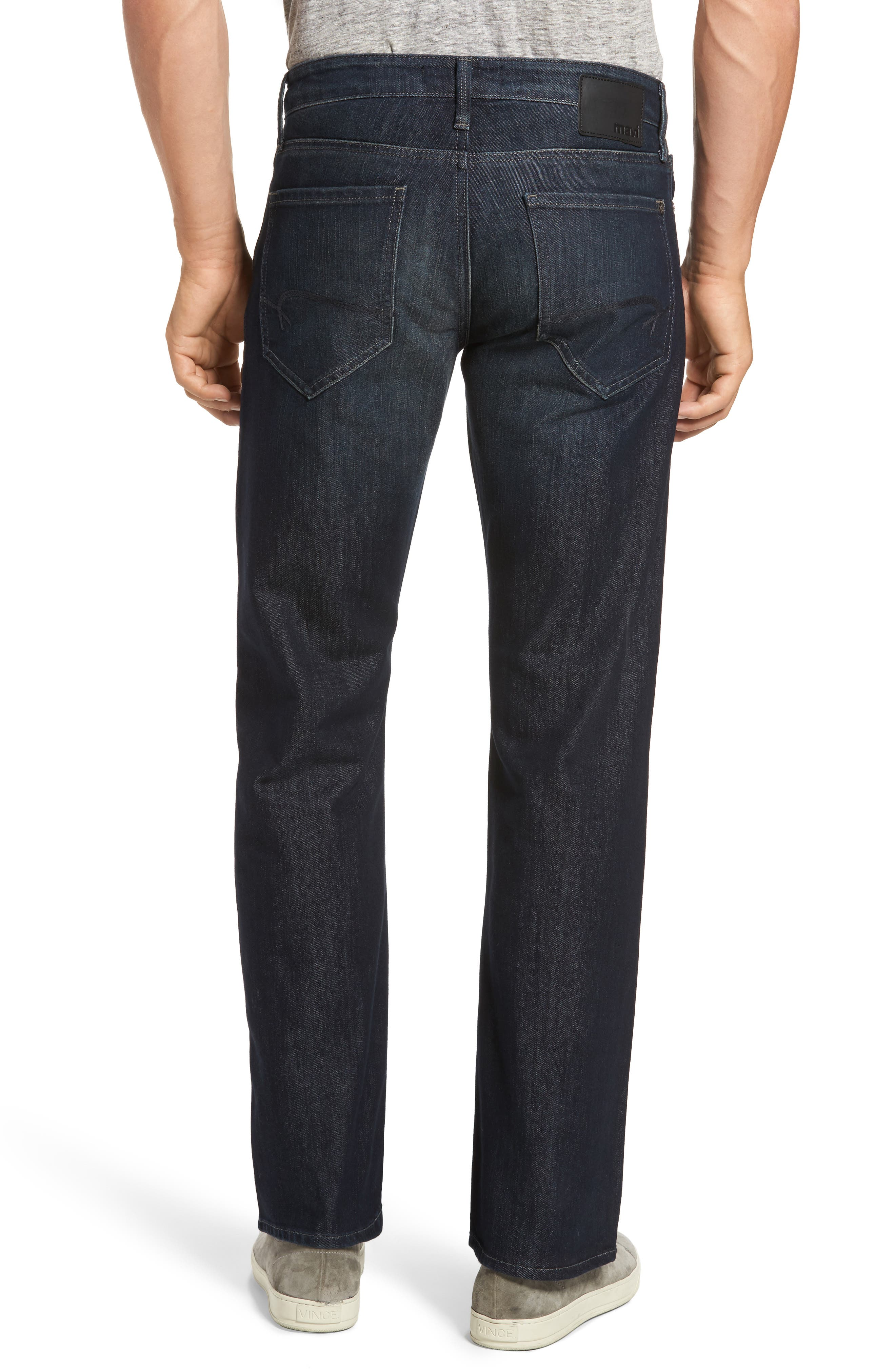 Alternate Image 2  - Mavi Jeans Josh Bootcut Jeans (Deep Stanford)