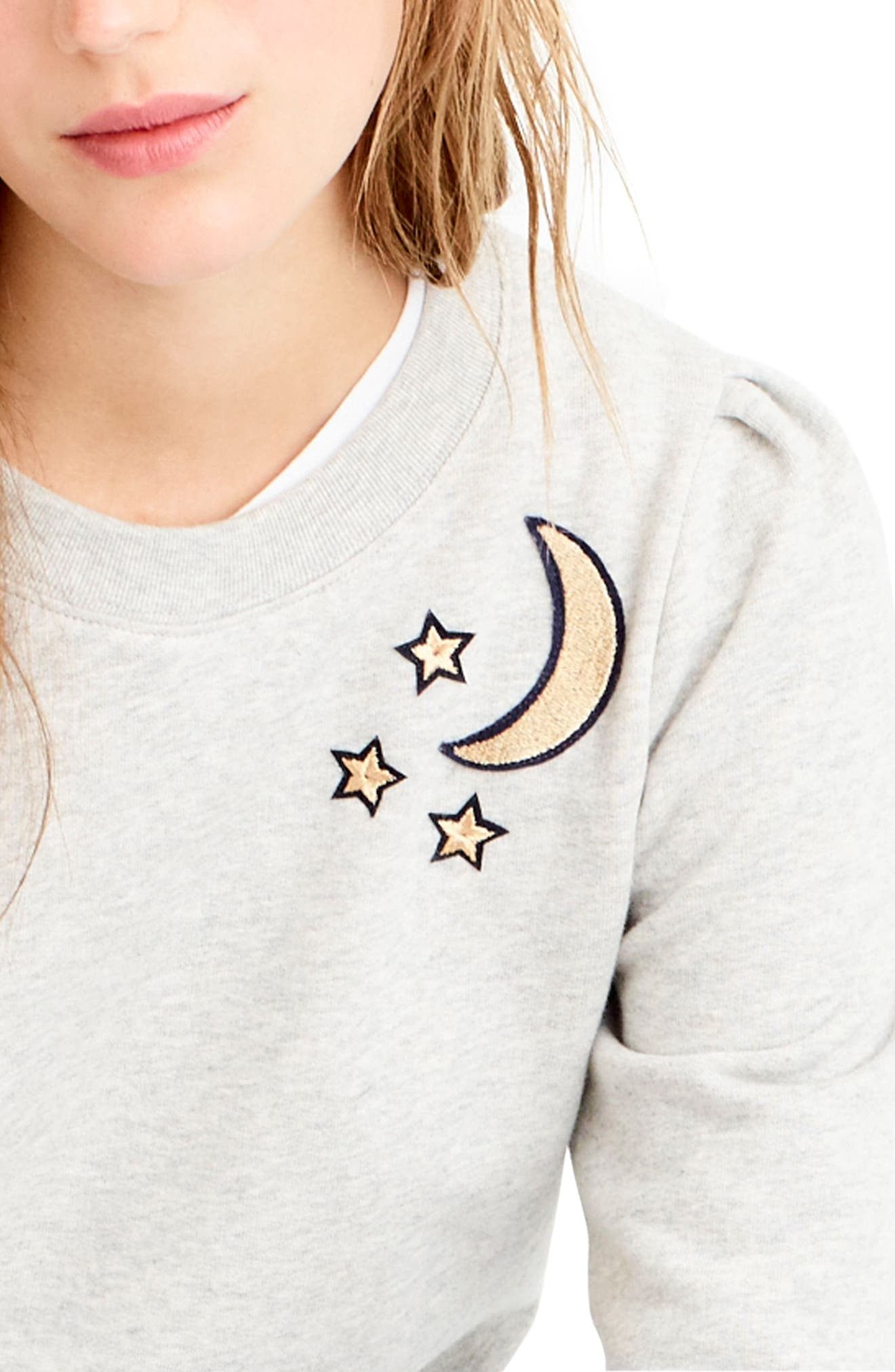 Alternate Image 2  - J.Crew Celestial Sweatshirt