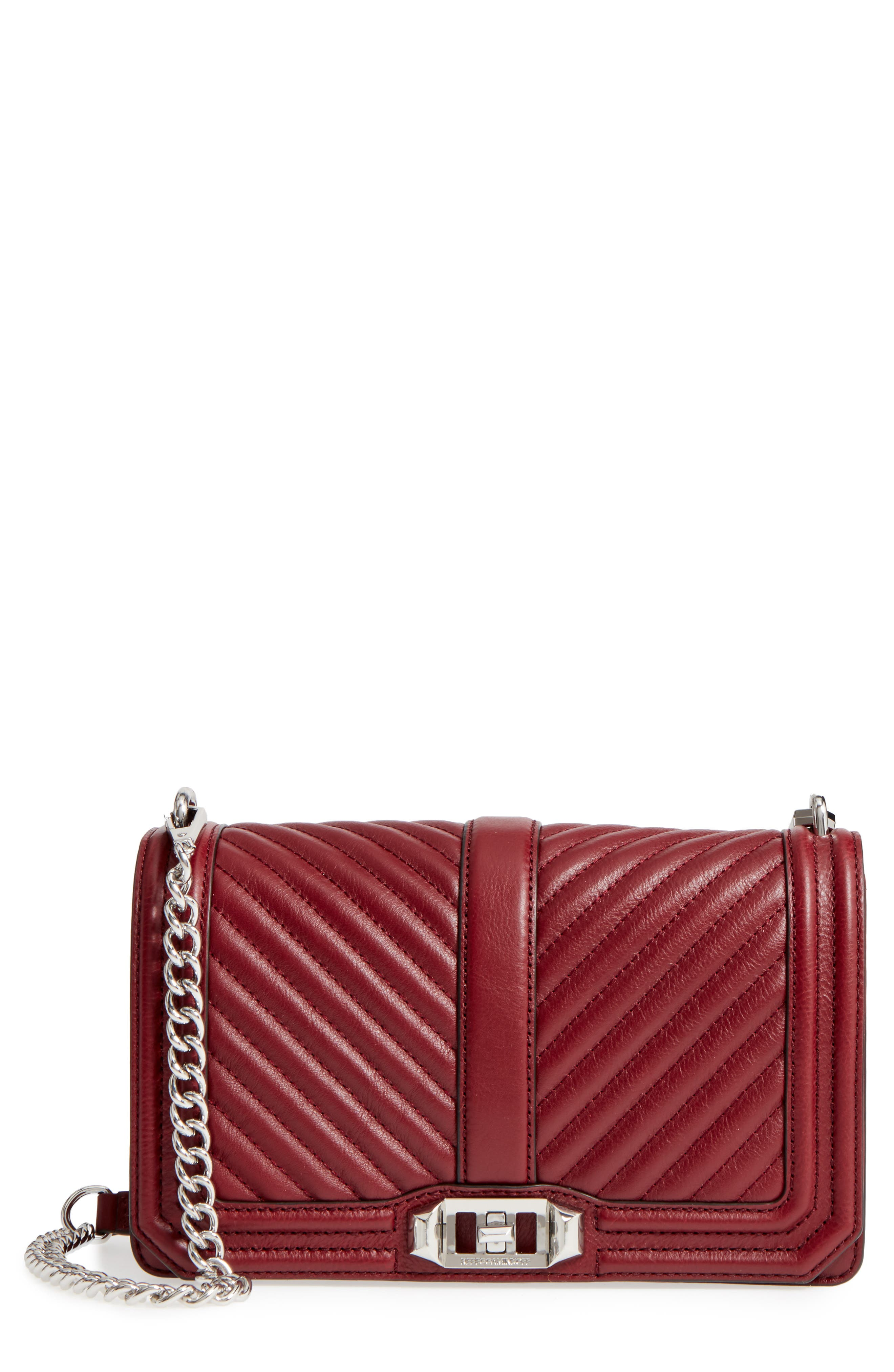 Rebecca Minkoff Love Leather Crossbody Bag
