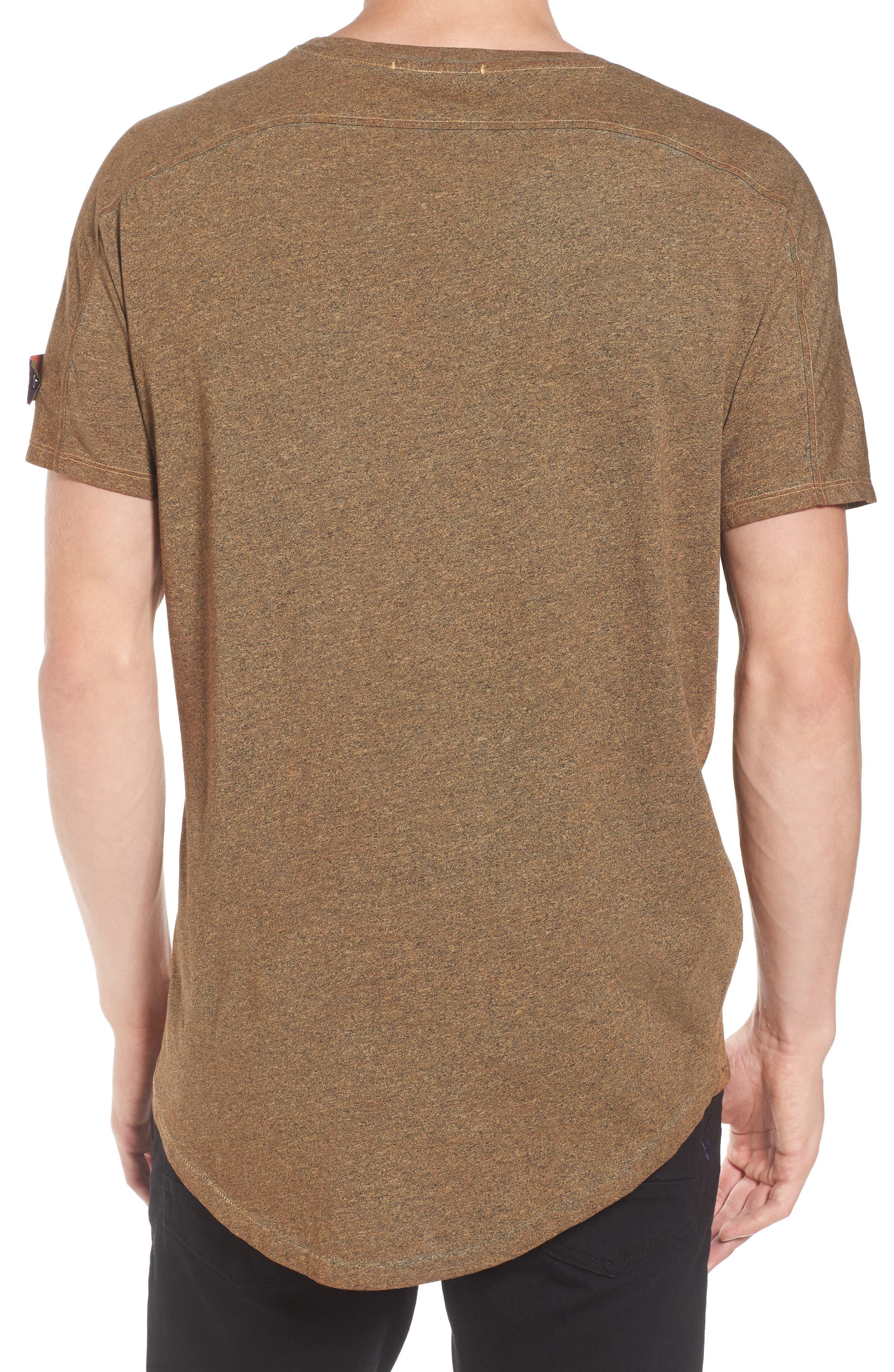 Oil-Washed Pocket T-Shirt,                             Alternate thumbnail 2, color,                             Ginger