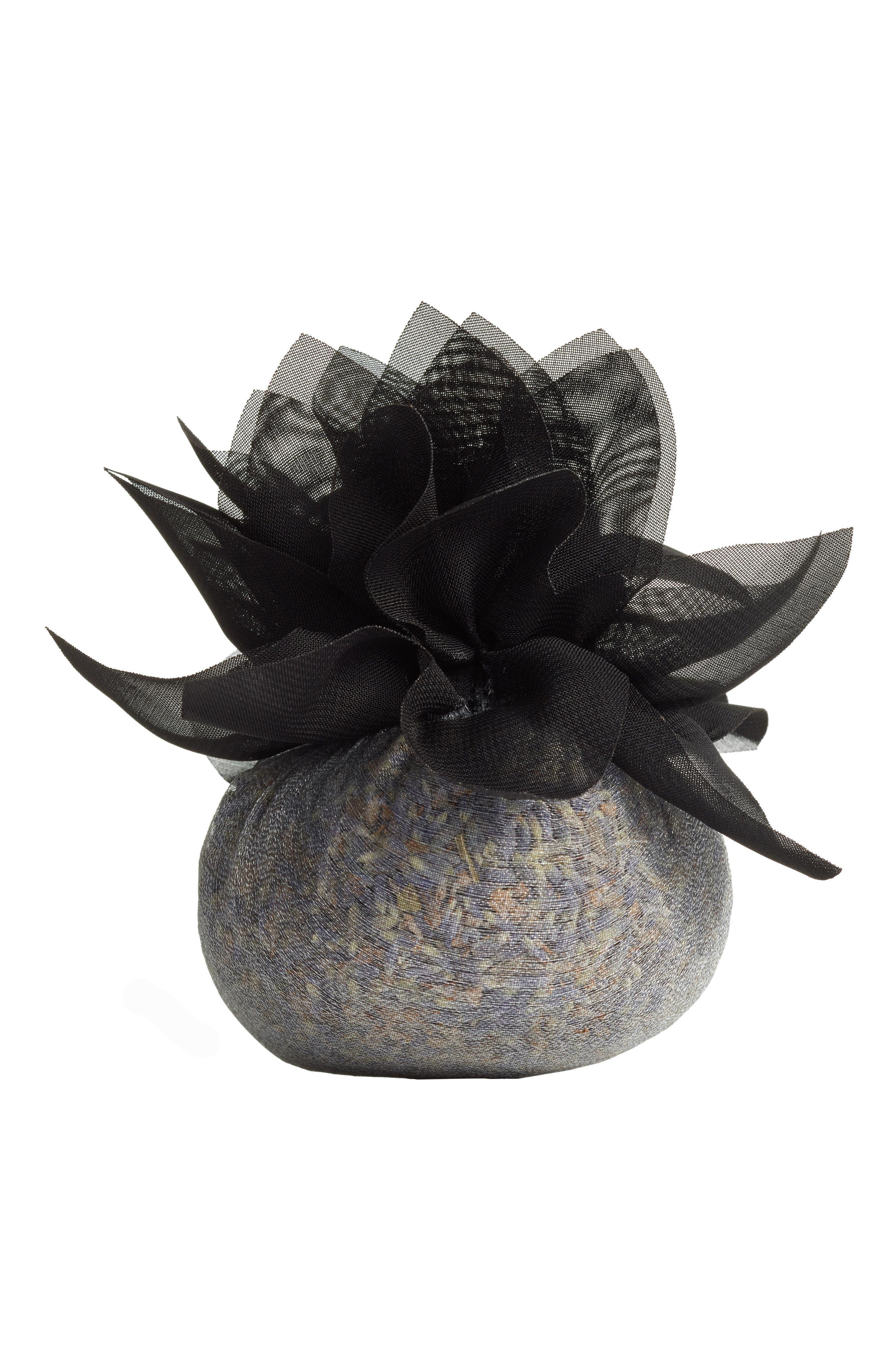 Sonoma Lavender Black Flower Sachet