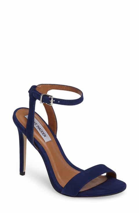 Womens blue wedding shoes nordstrom steve madden landen ankle strap sandal women junglespirit Choice Image
