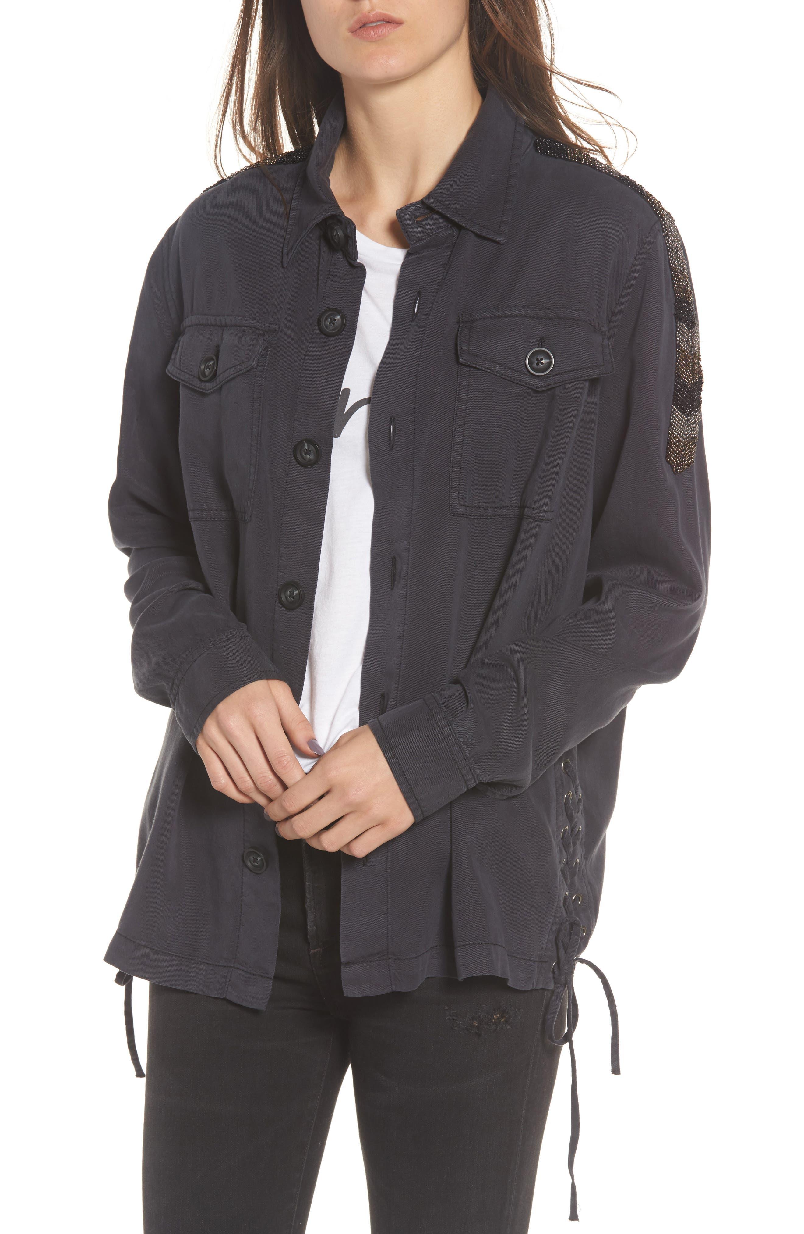 Pam & Gela Shirt Jacket