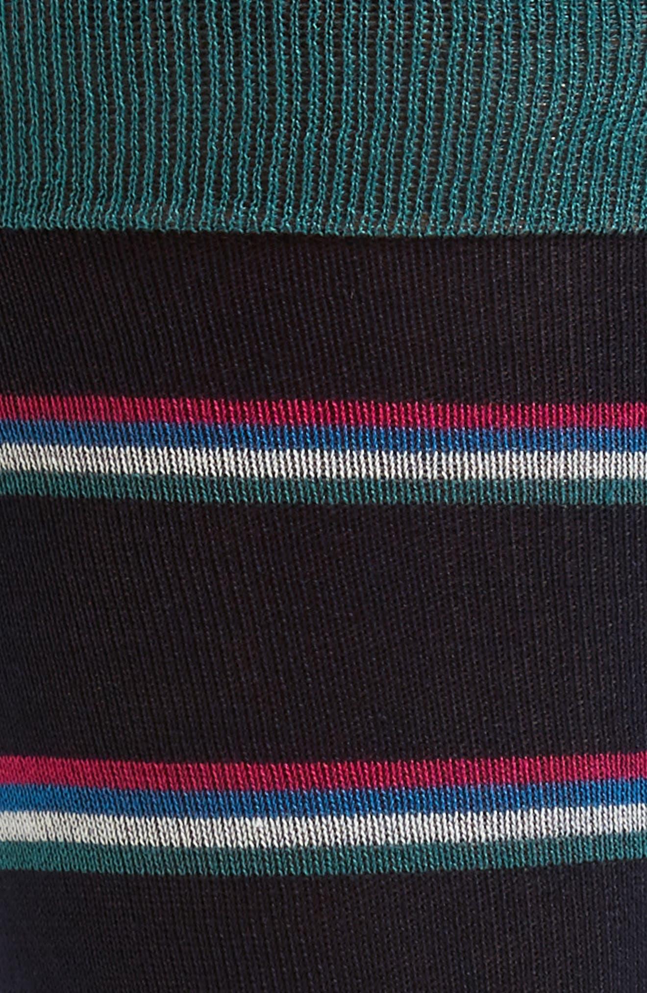 Jehans Stripe Socks,                             Alternate thumbnail 2, color,                             Navy