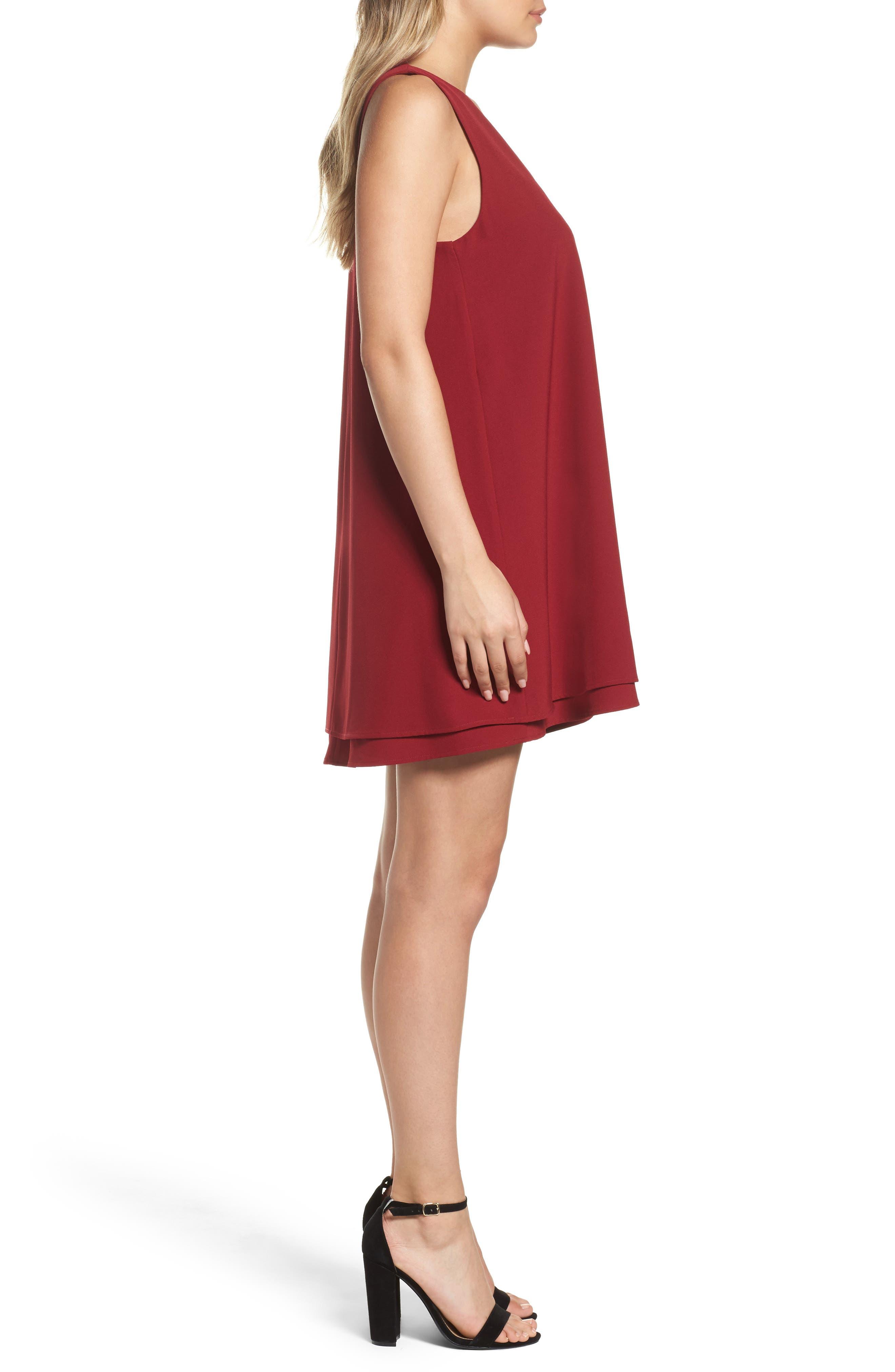 Alternate Image 3  - BB Dakota 'Palma' Crepe Shift Dress