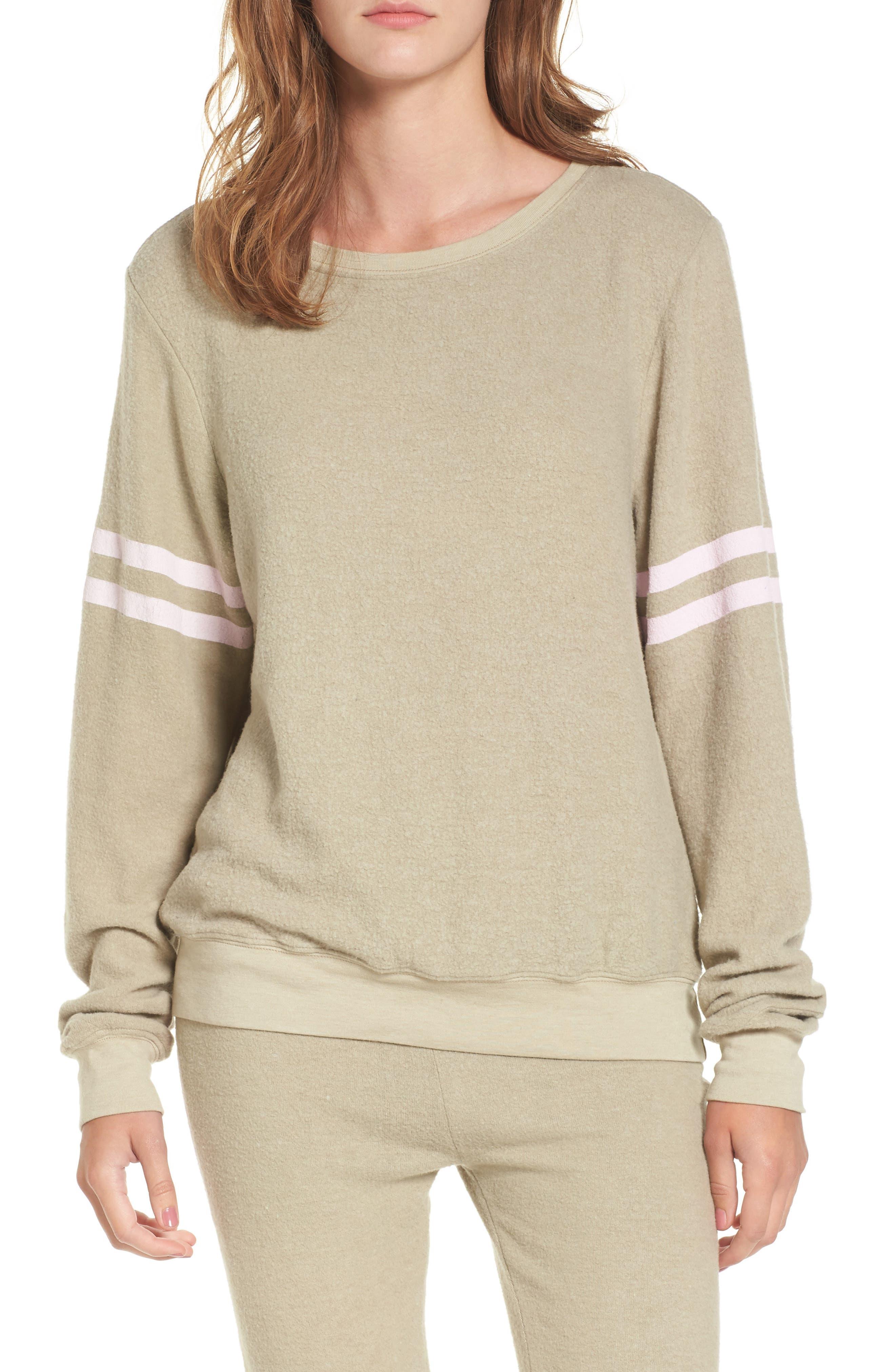 Dream Scene Stripe Sweatshirt