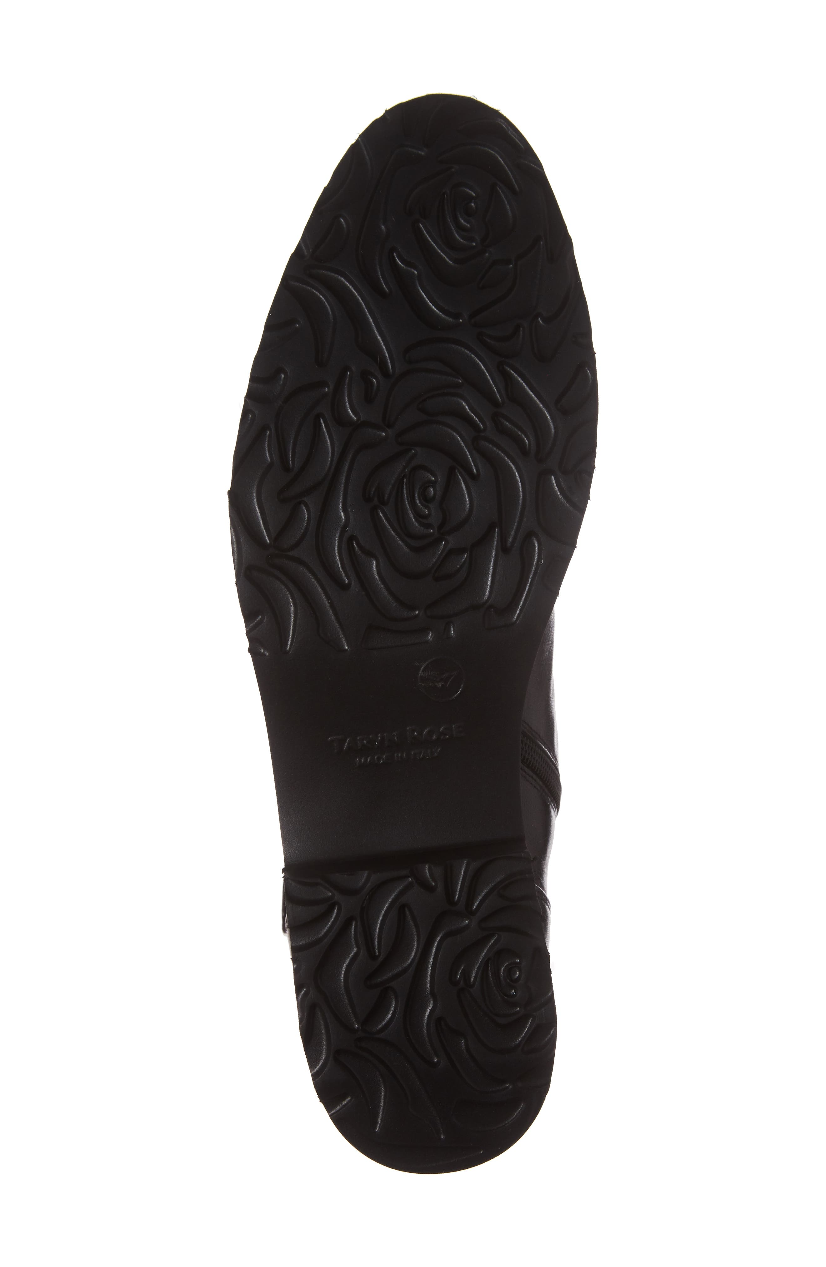 Valentina Rose Boot,                             Alternate thumbnail 6, color,                             Black Leather
