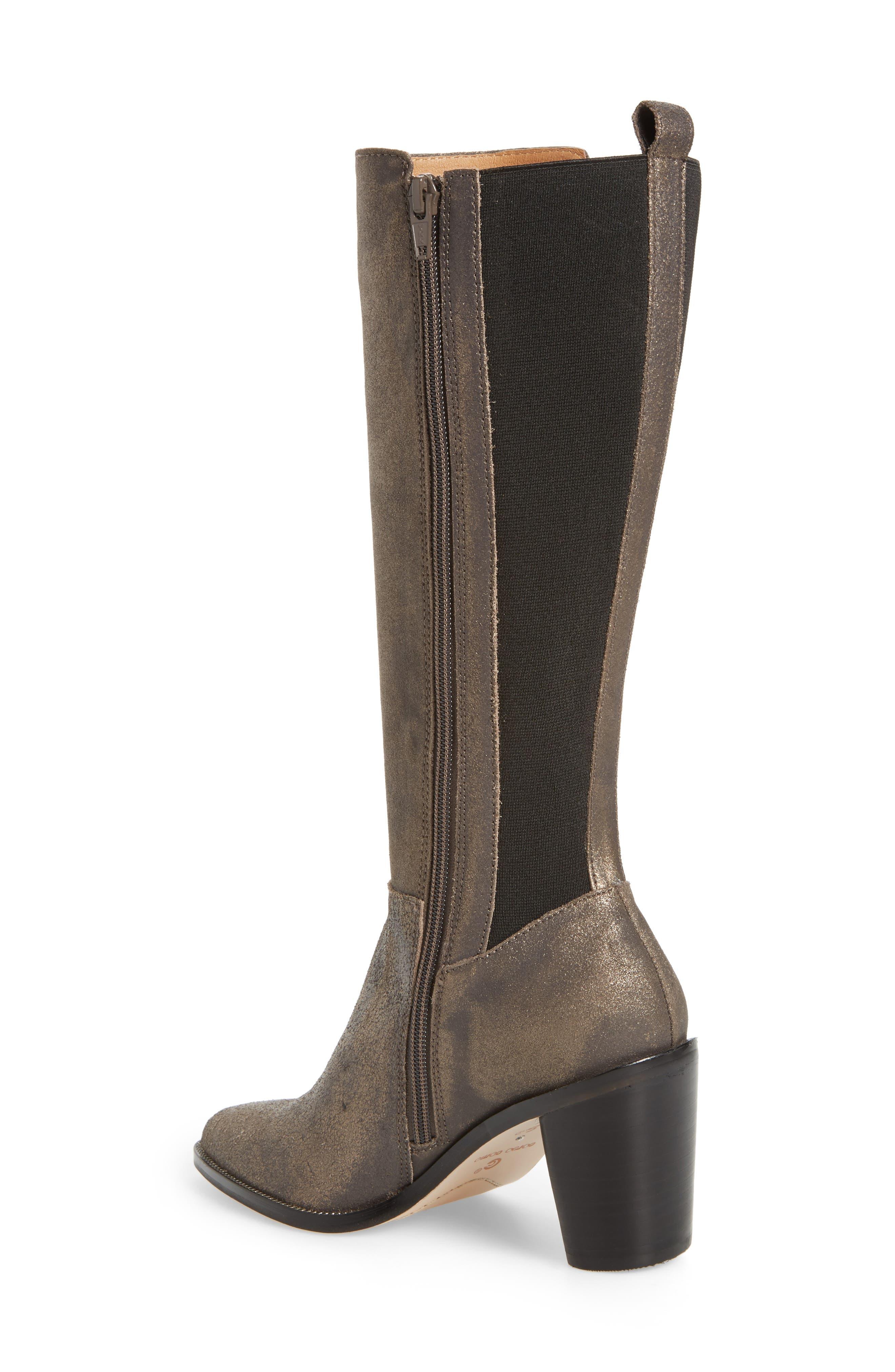 Huey Boot,                             Alternate thumbnail 2, color,                             Gunmetal Leather