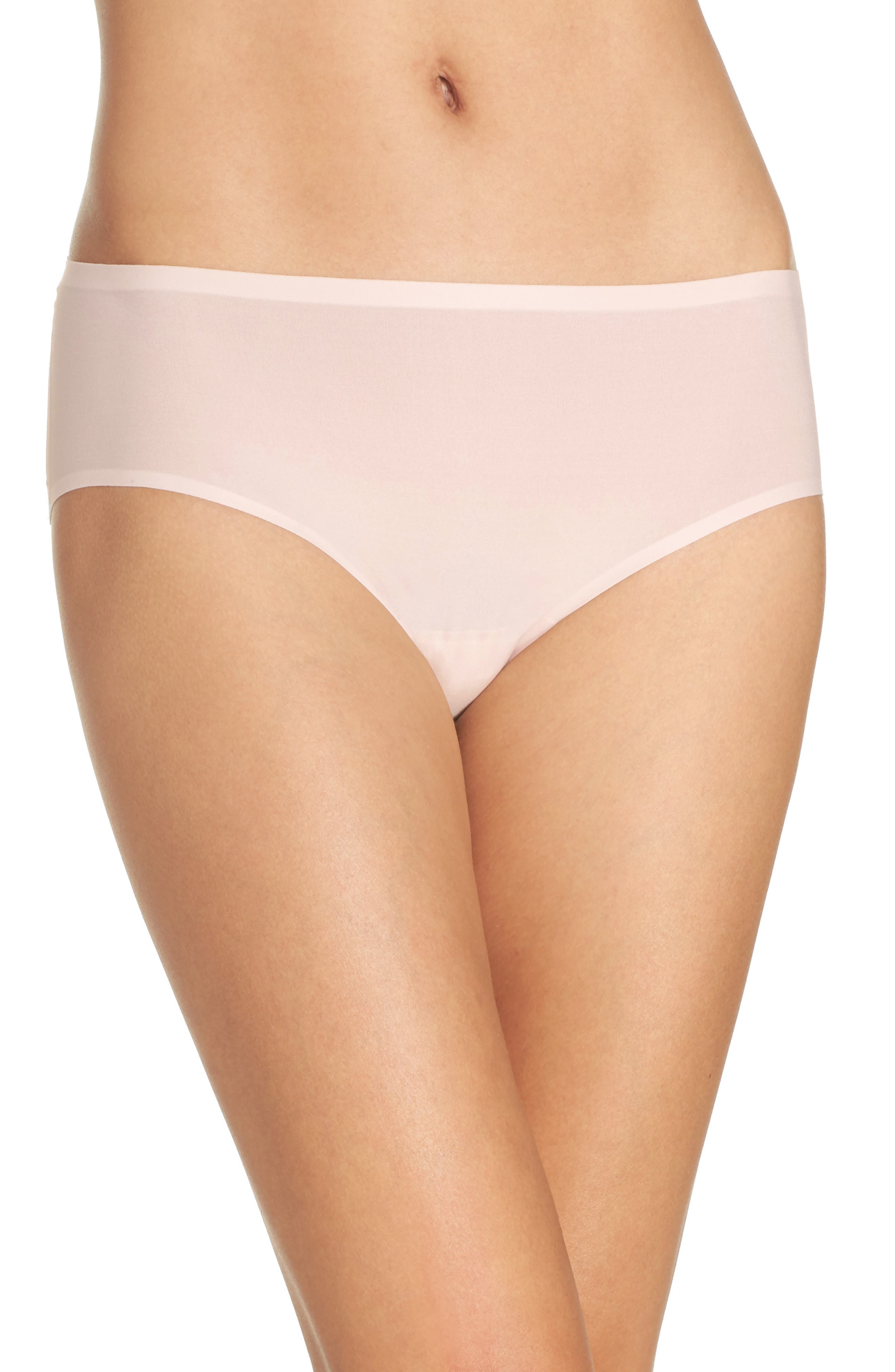 Alternate Image 1 Selected - Chantelle Intimates Soft Stretch Seamless Hipster Panties (3 for $45)