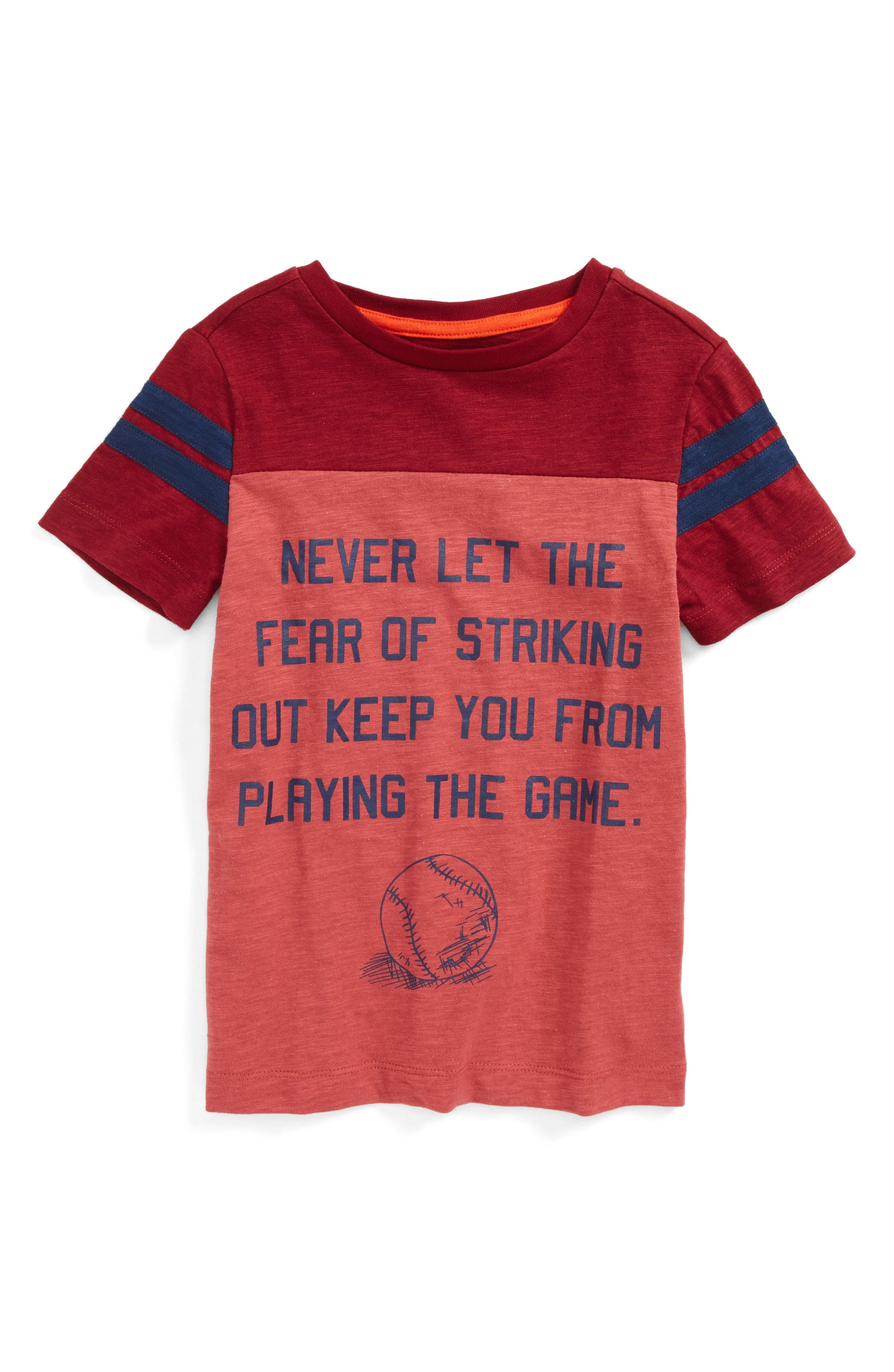 Peek Striking Out T-Shirt (Toddler Boys, Little Boys & Big Boys)