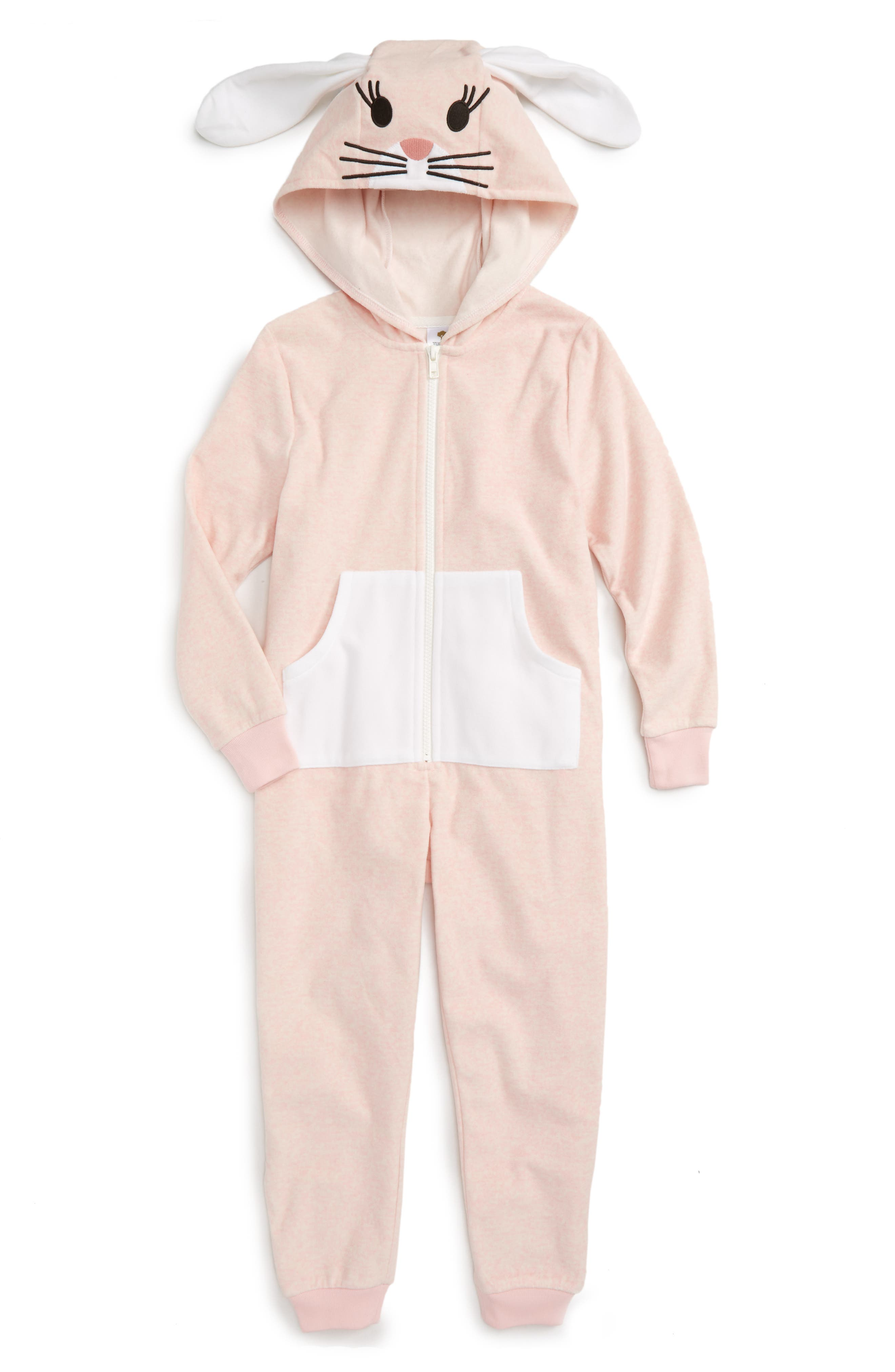 Tucker + Tate Hooded Romper (Little Girls & Big Girls)