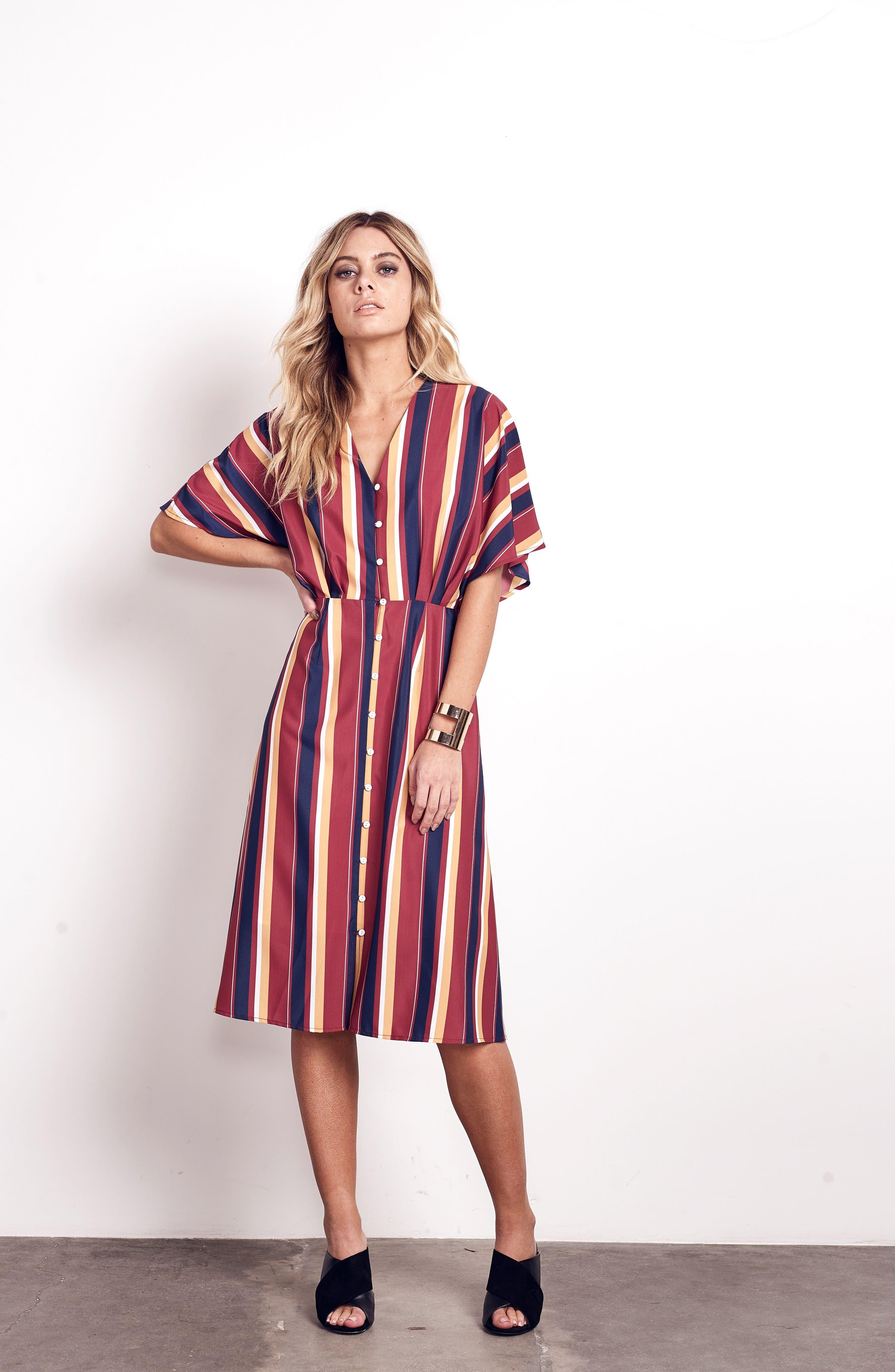 Alternate Image 2  - Ali & Jay Dreamer Stripe Dress