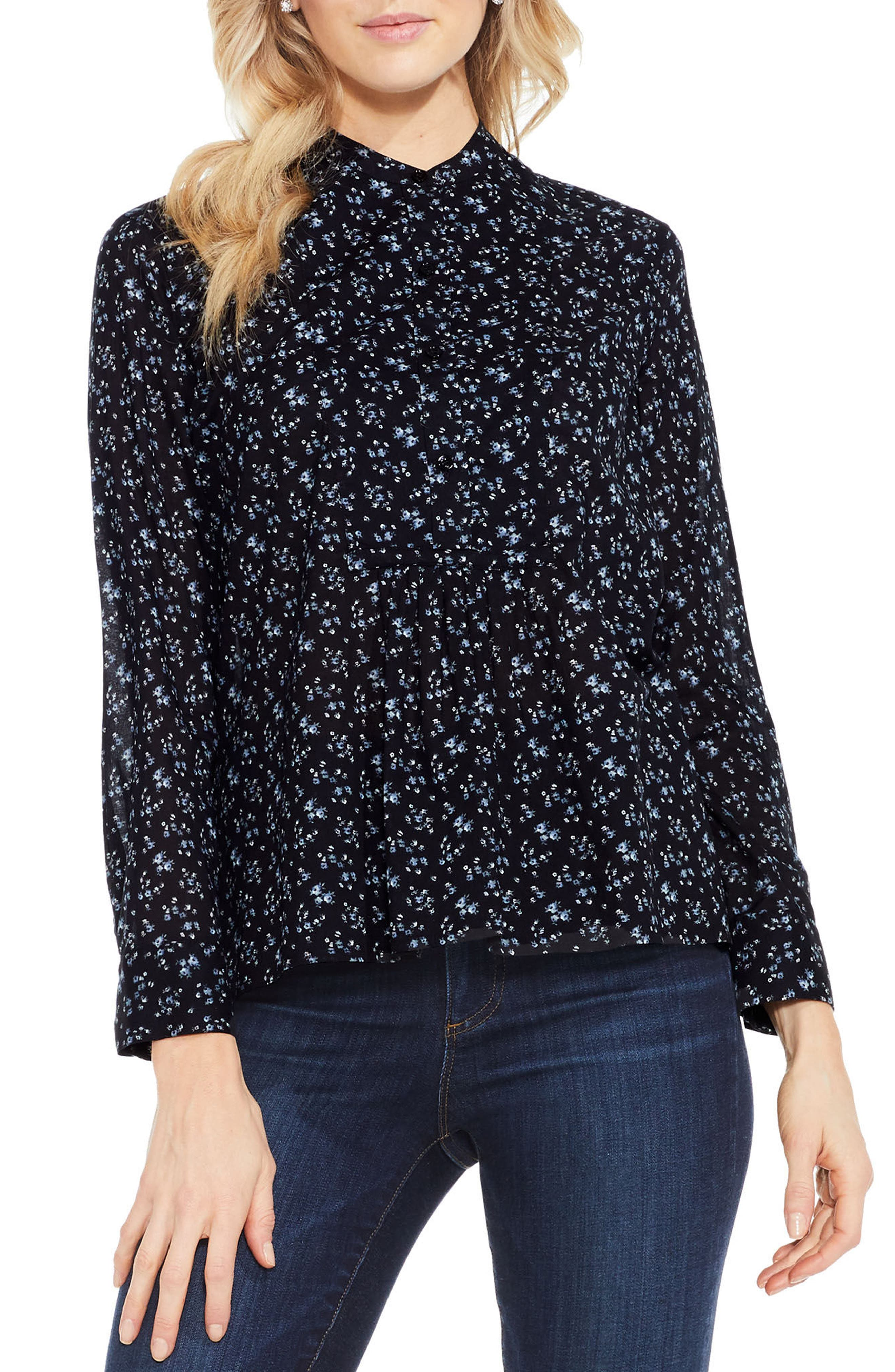 Alternate Image 1 Selected - Two by Vince Camuto Mini Bouquet Top