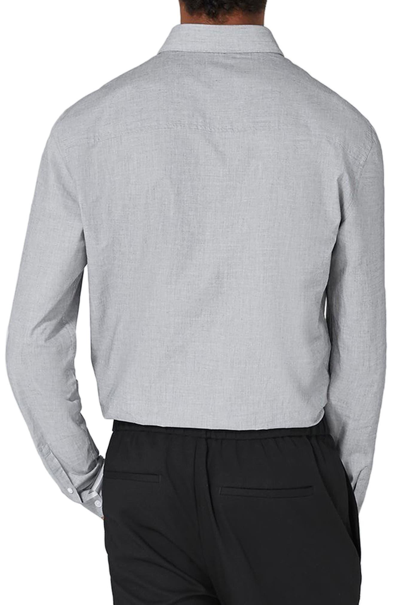 Alternate Image 2  - Topman Leeson Slim Fit Smart Shirt