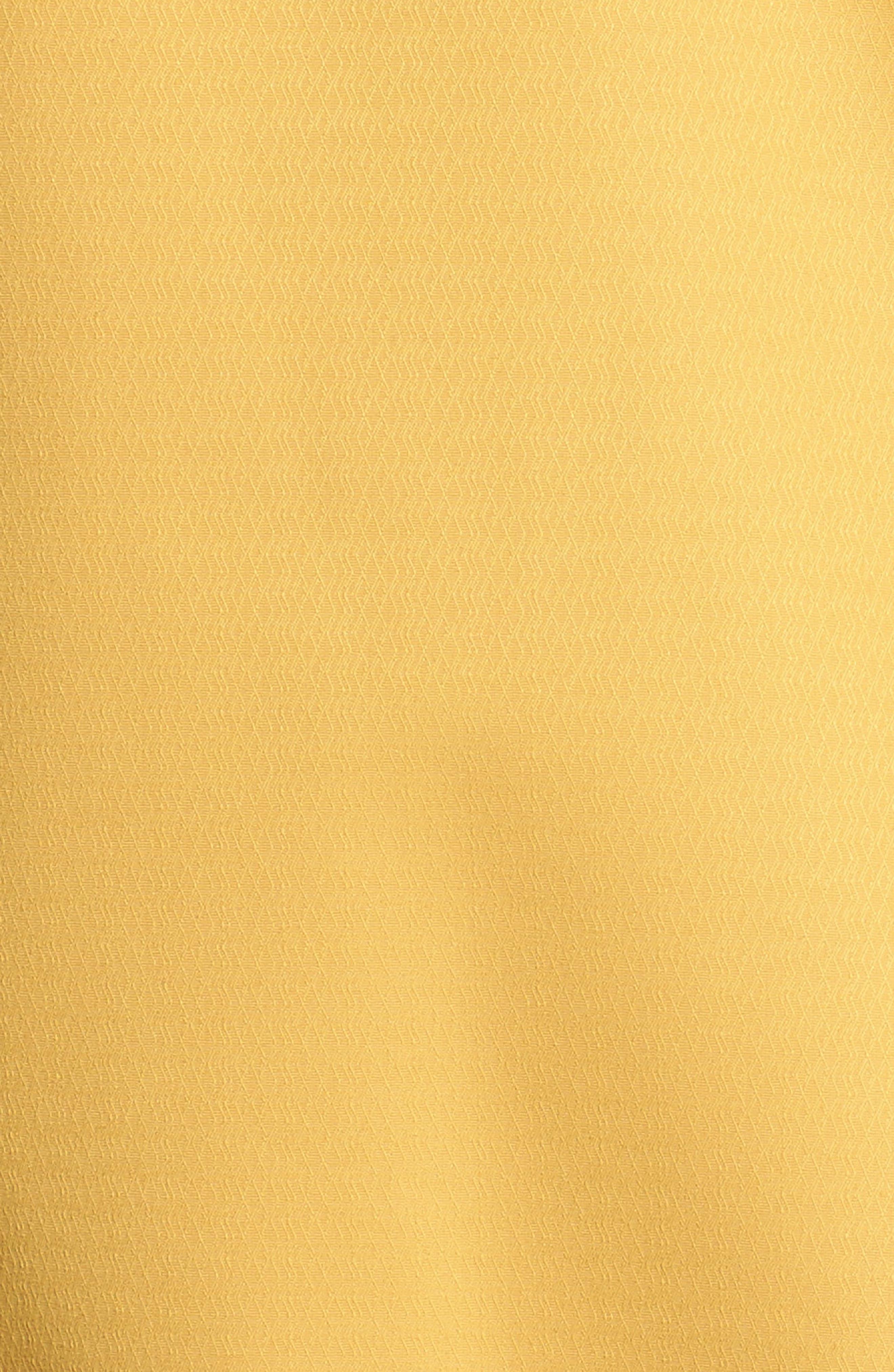 Sadie Waterproof Hooded Jacket,                             Alternate thumbnail 6, color,                             Harvest Gold