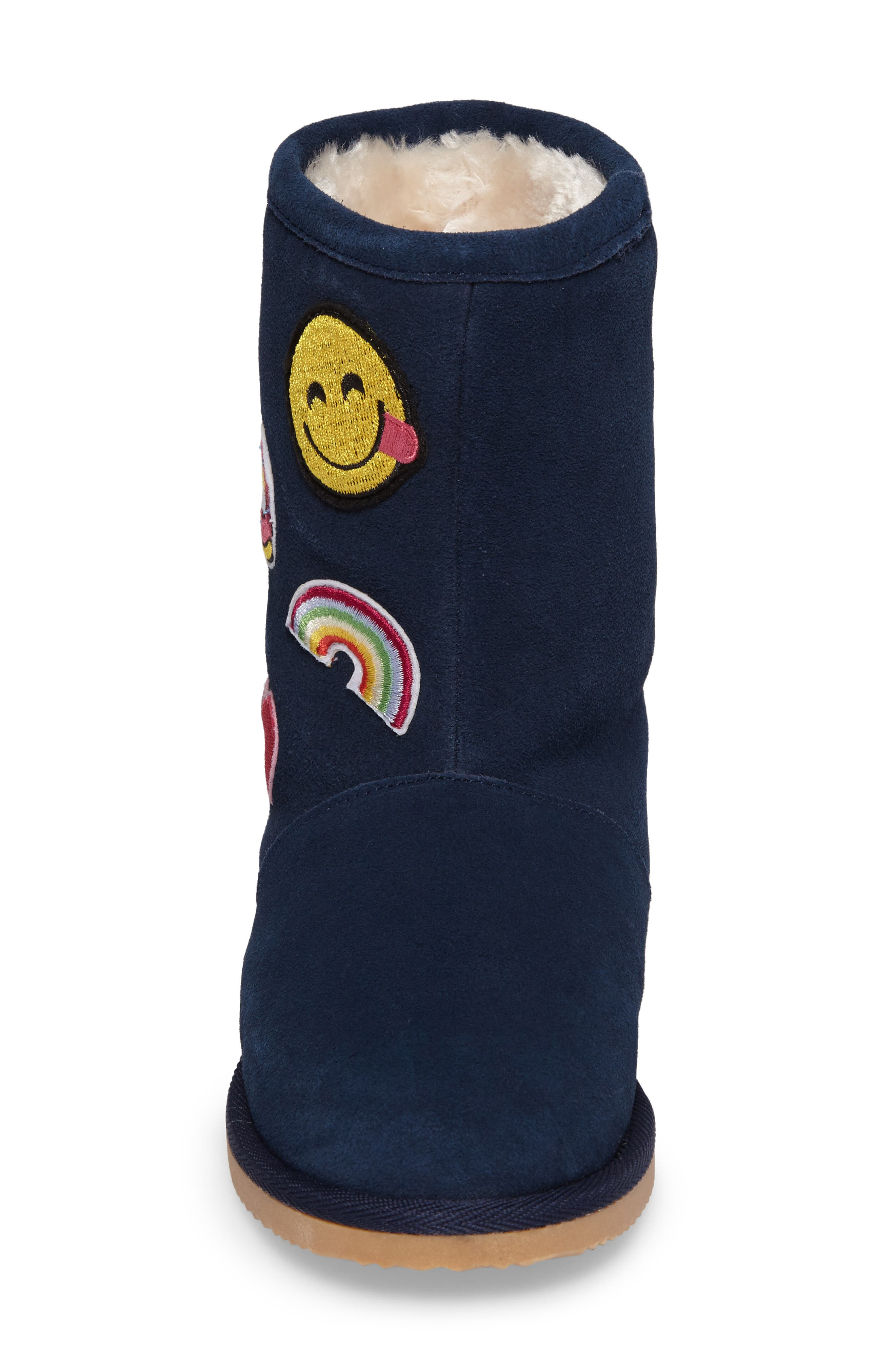 Alternate Image 4  - Tucker + Tate Connie Appliqué Faux Fur Boot (Walker, Toddler, Little Kid & Big Kid)