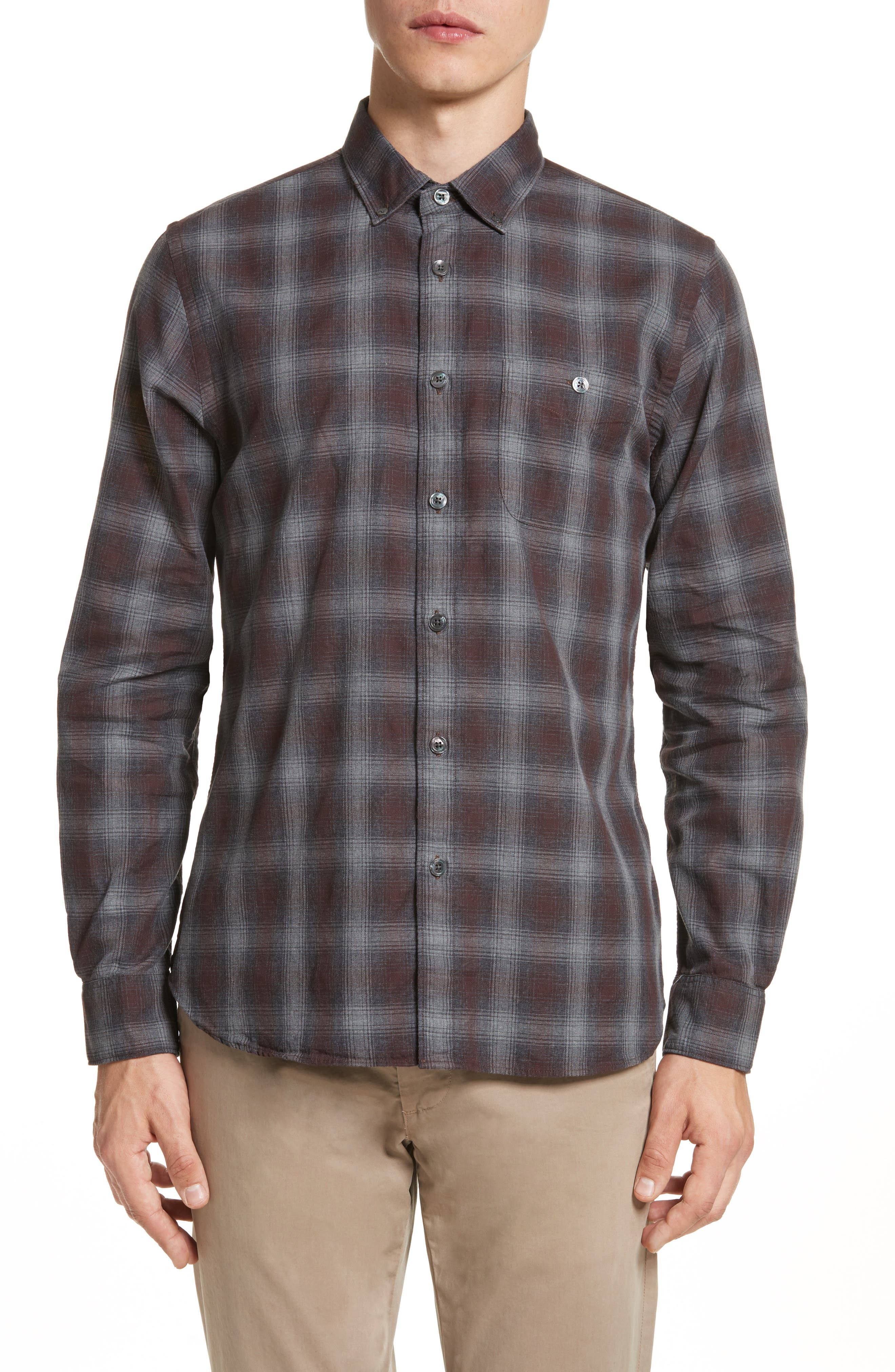 Todd Snyder Plaid Flannel Shirt