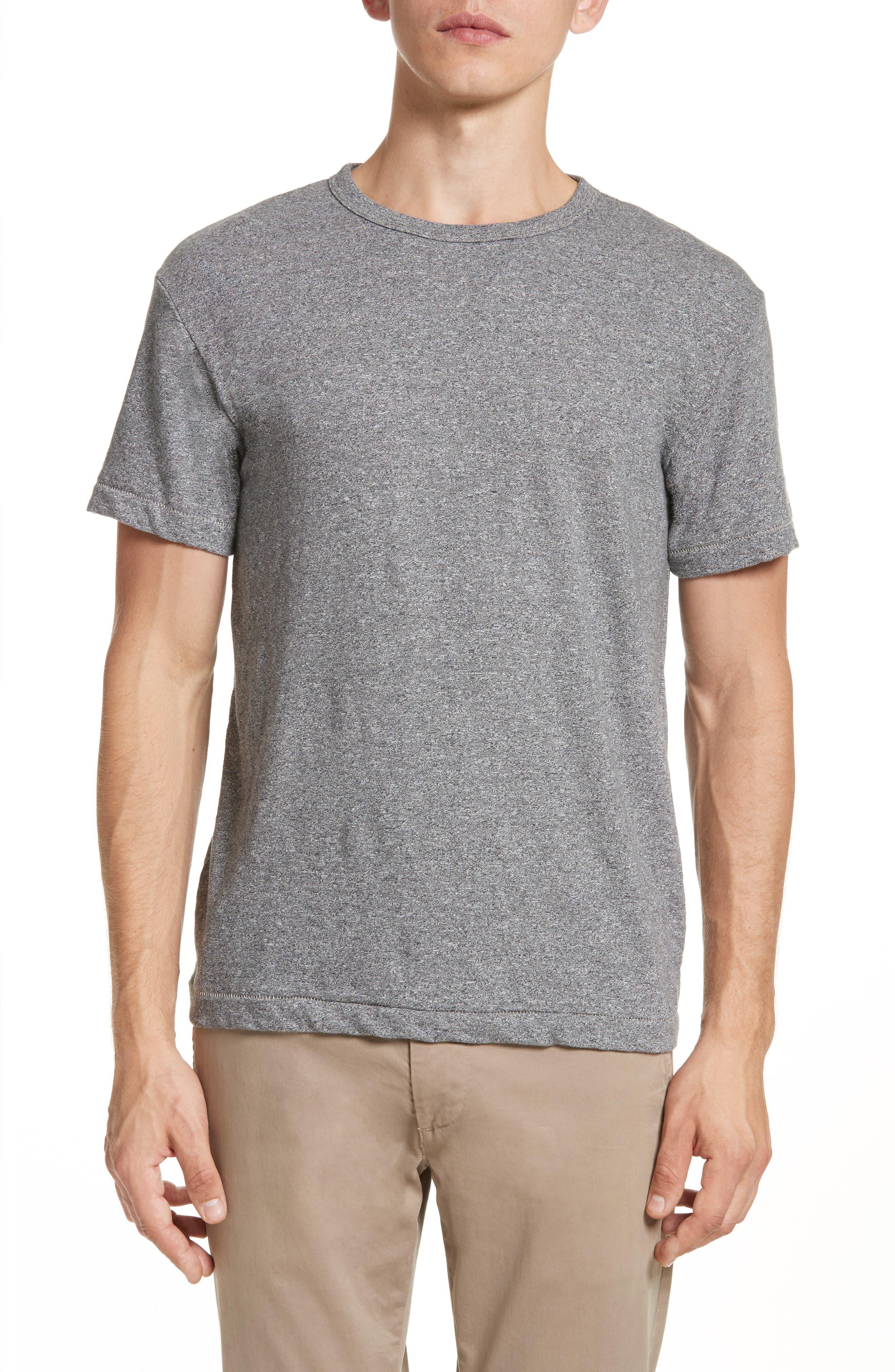 Main Image - Todd Snyder + Champion Heathered Crewneck T-Shirt