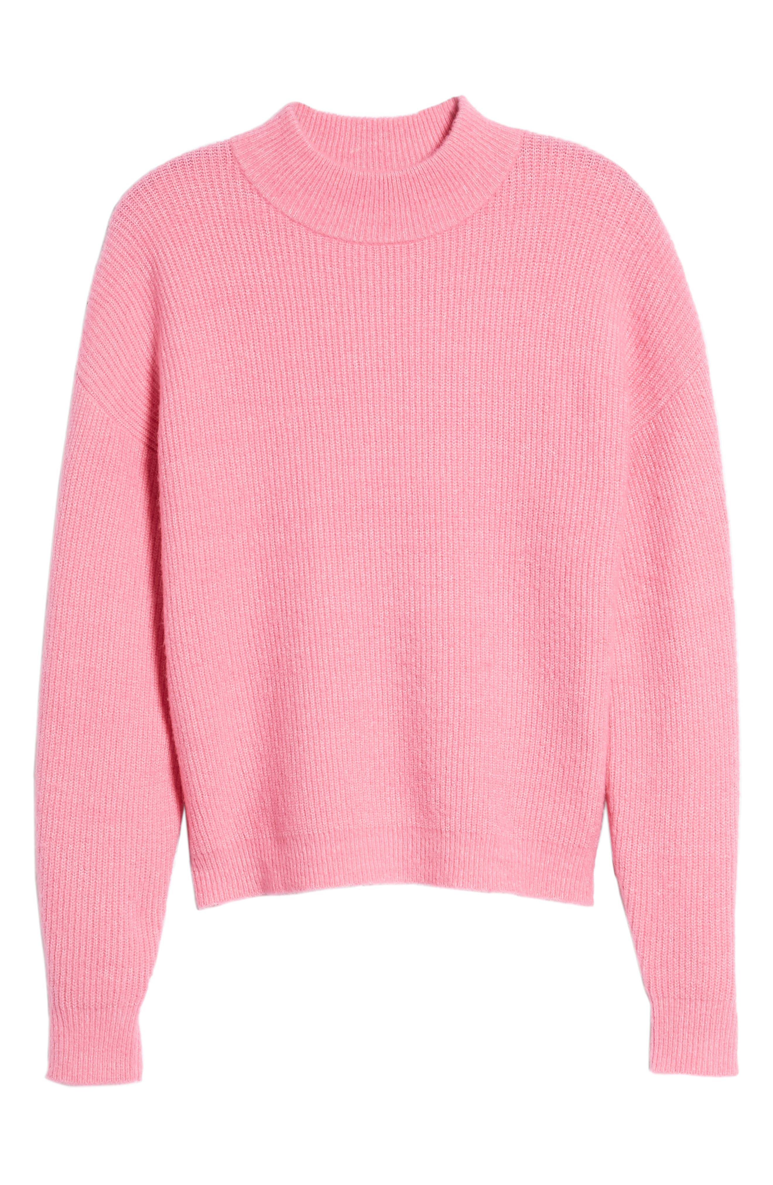 Alternate Image 6  - Leith Cozy Ribbed Pullover