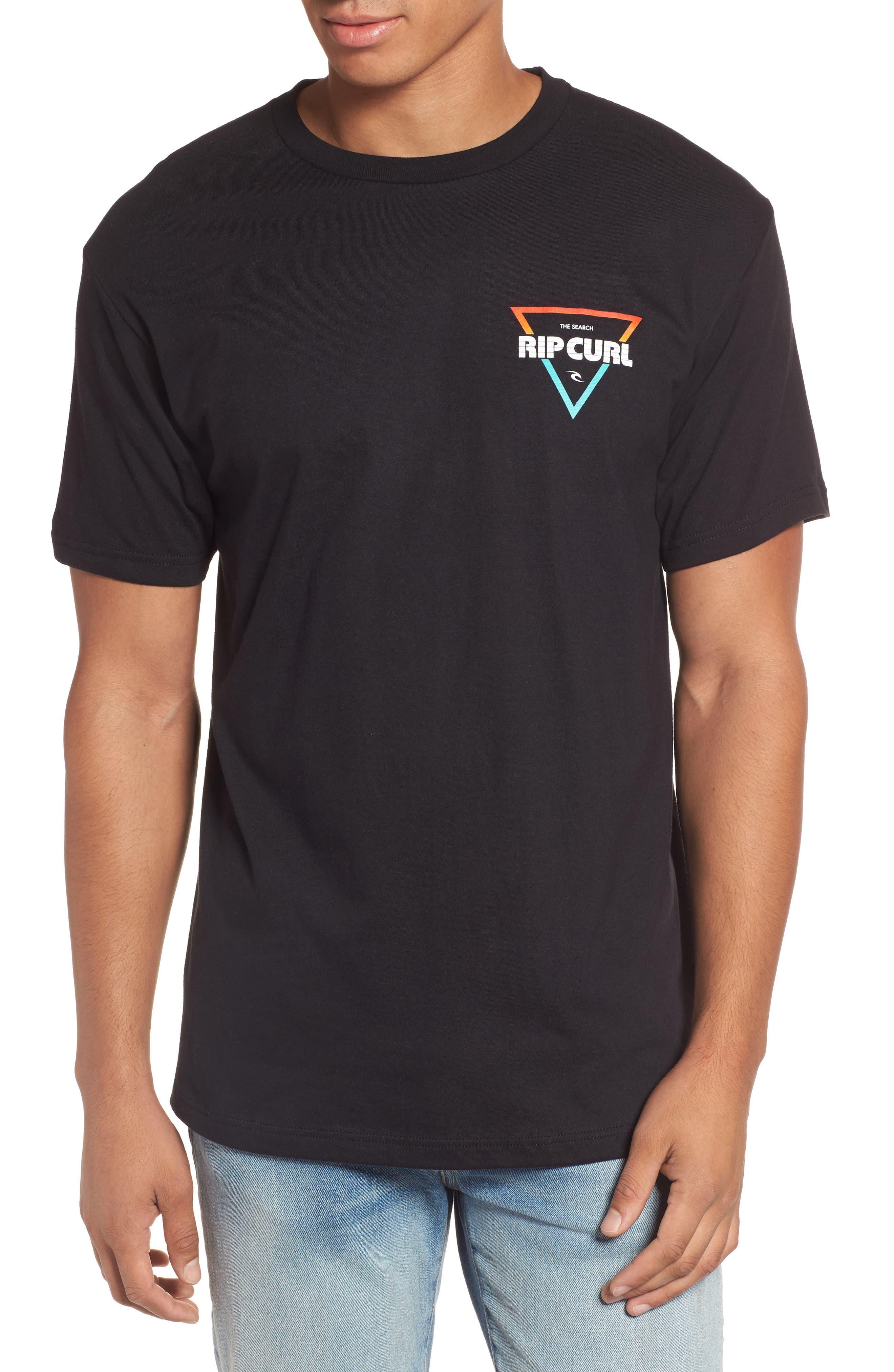 The Edge Premium Graphic T-Shirt,                             Main thumbnail 1, color,                             Black