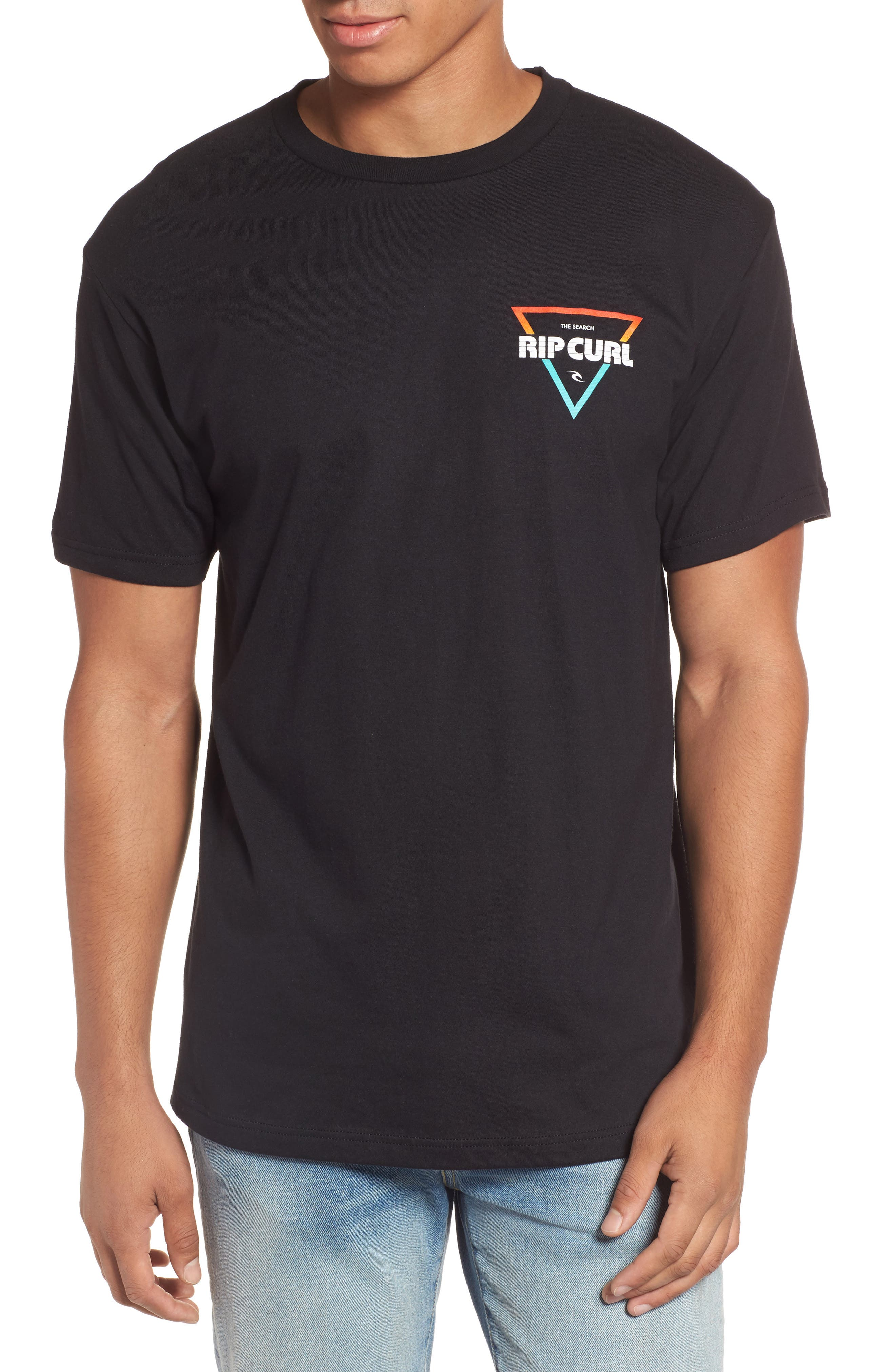 The Edge Premium Graphic T-Shirt,                         Main,                         color, Black