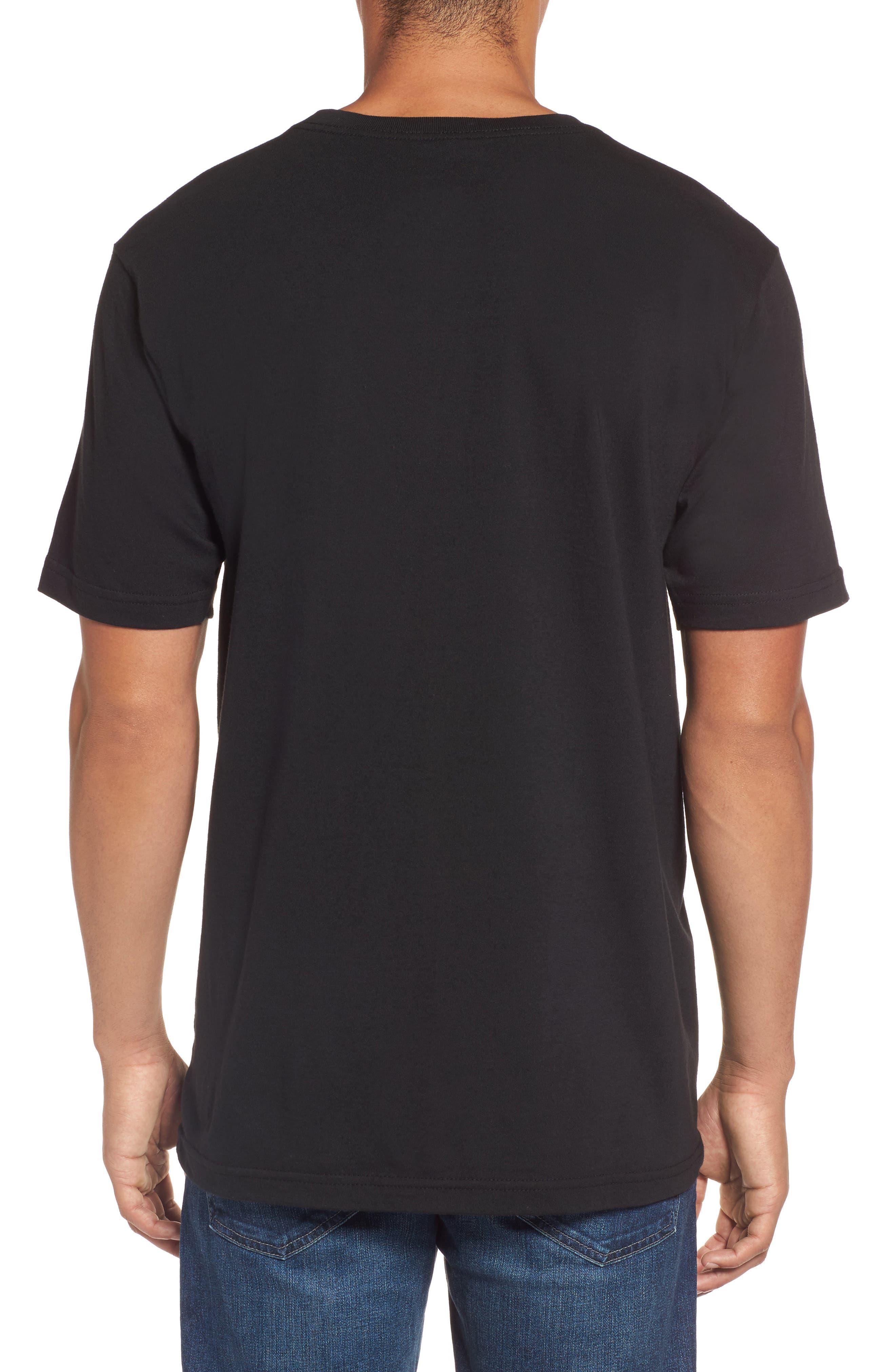 Cage Classic Graphic T-Shirt,                             Alternate thumbnail 2, color,                             Black