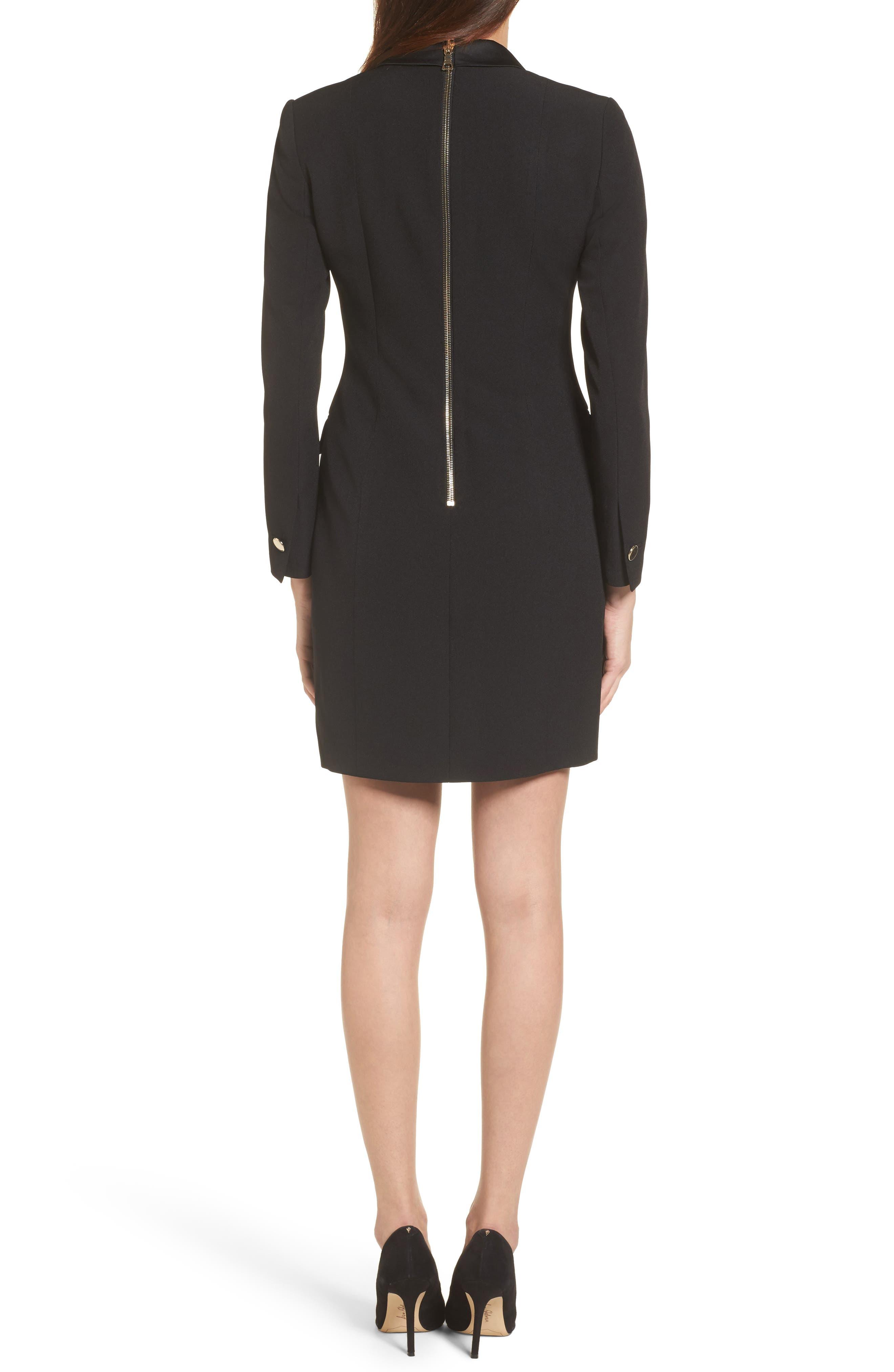 Alternate Image 2  - Anne Klein Tuxedo Dress