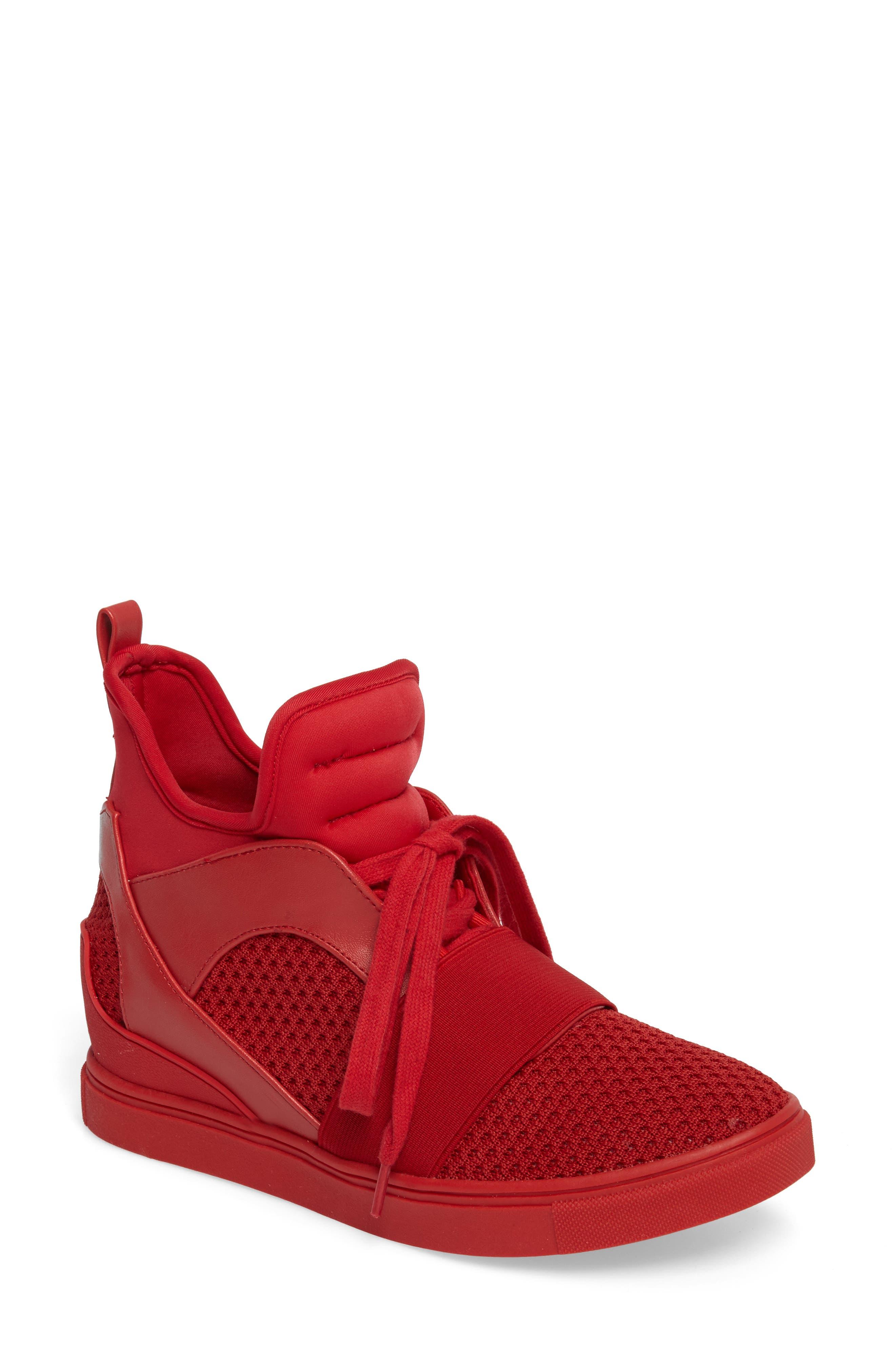 Alternate Image 1 Selected - Steve Madden Lexie Wedge Sneaker (Women)
